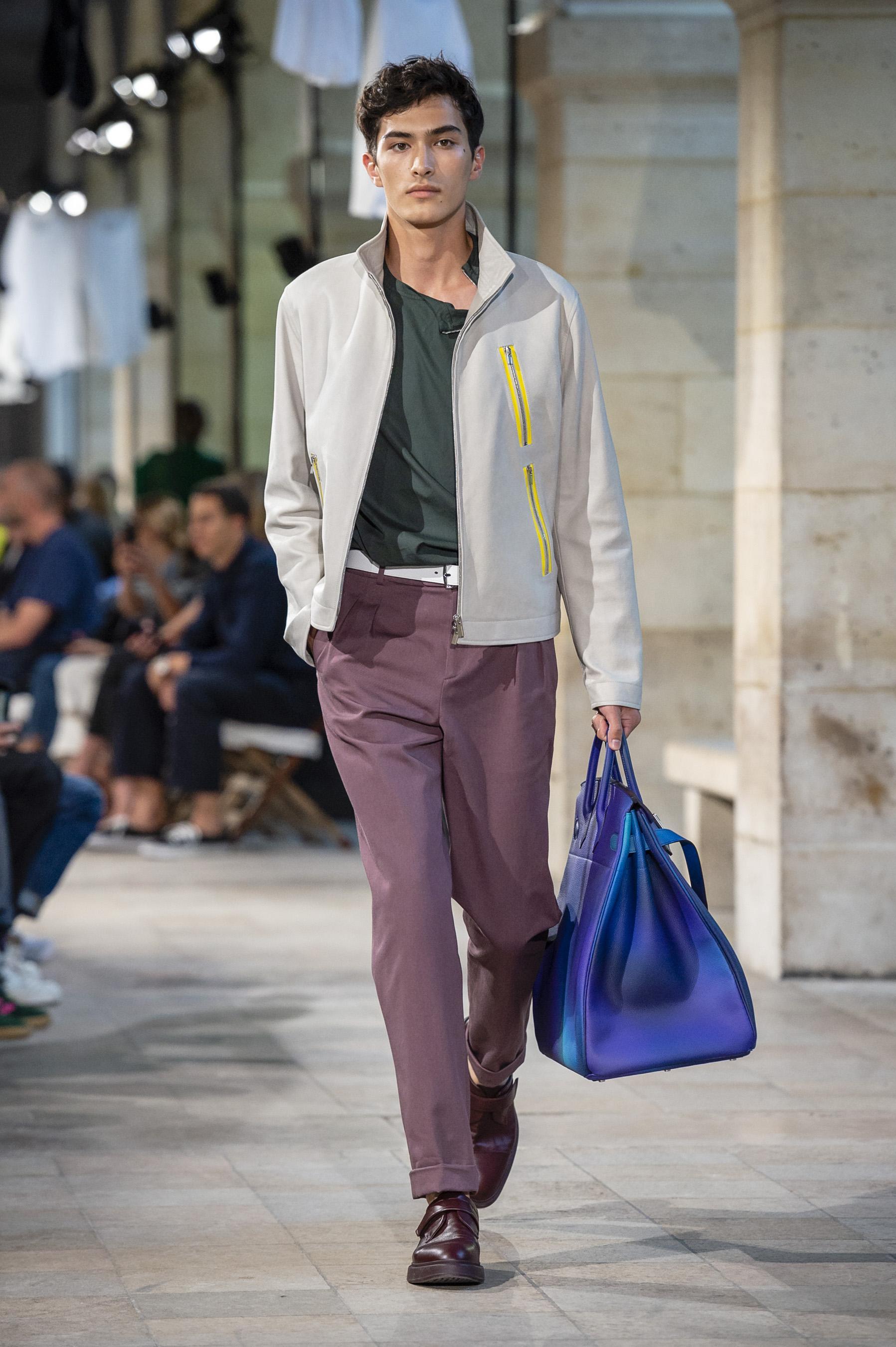 281d46c6f16 Défilé Hermès printemps-été 2019 Homme - Madame Figaro
