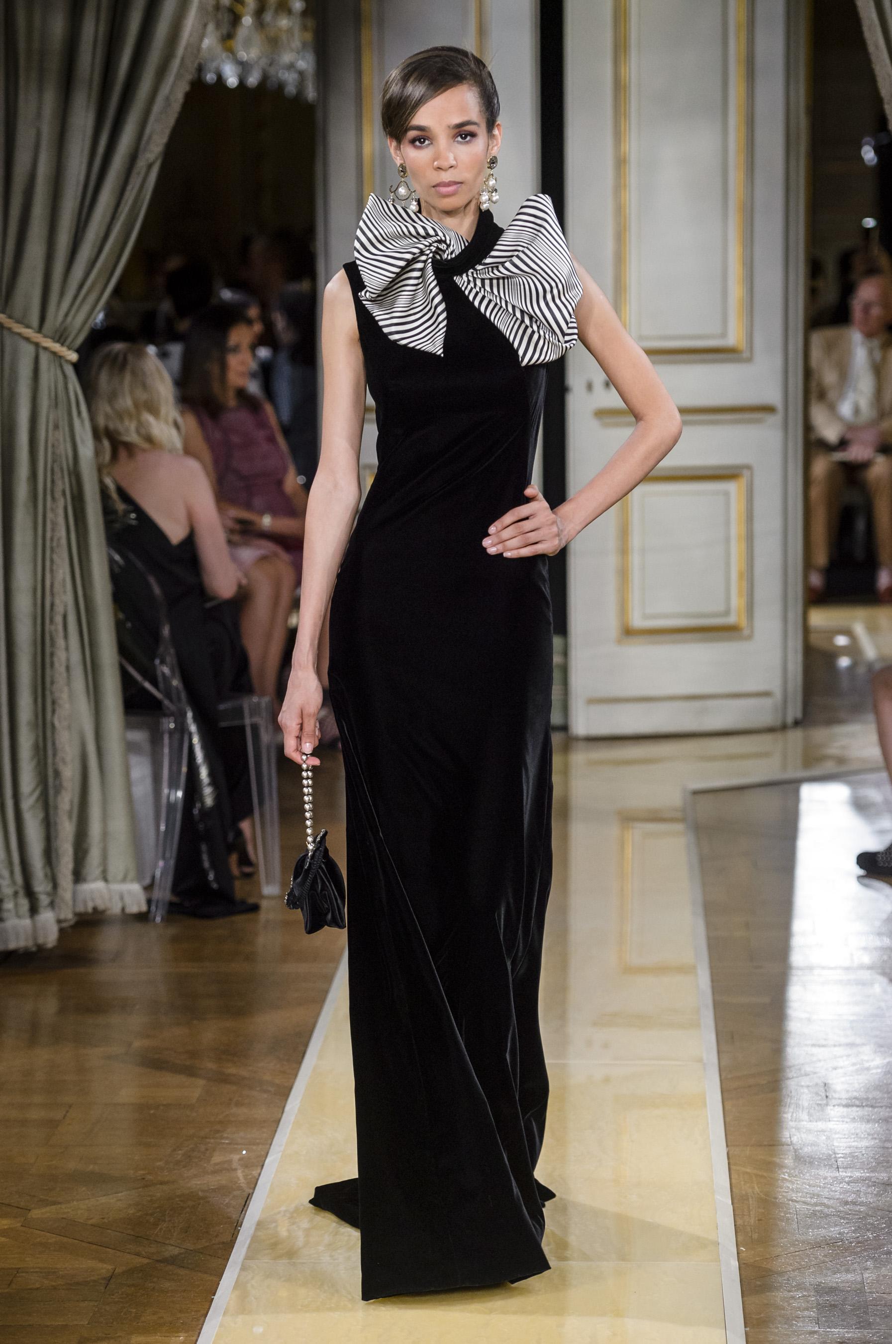68c5911276d25d Défilé Giorgio Armani Privé automne-hiver 2018-2019 Couture - Madame ...