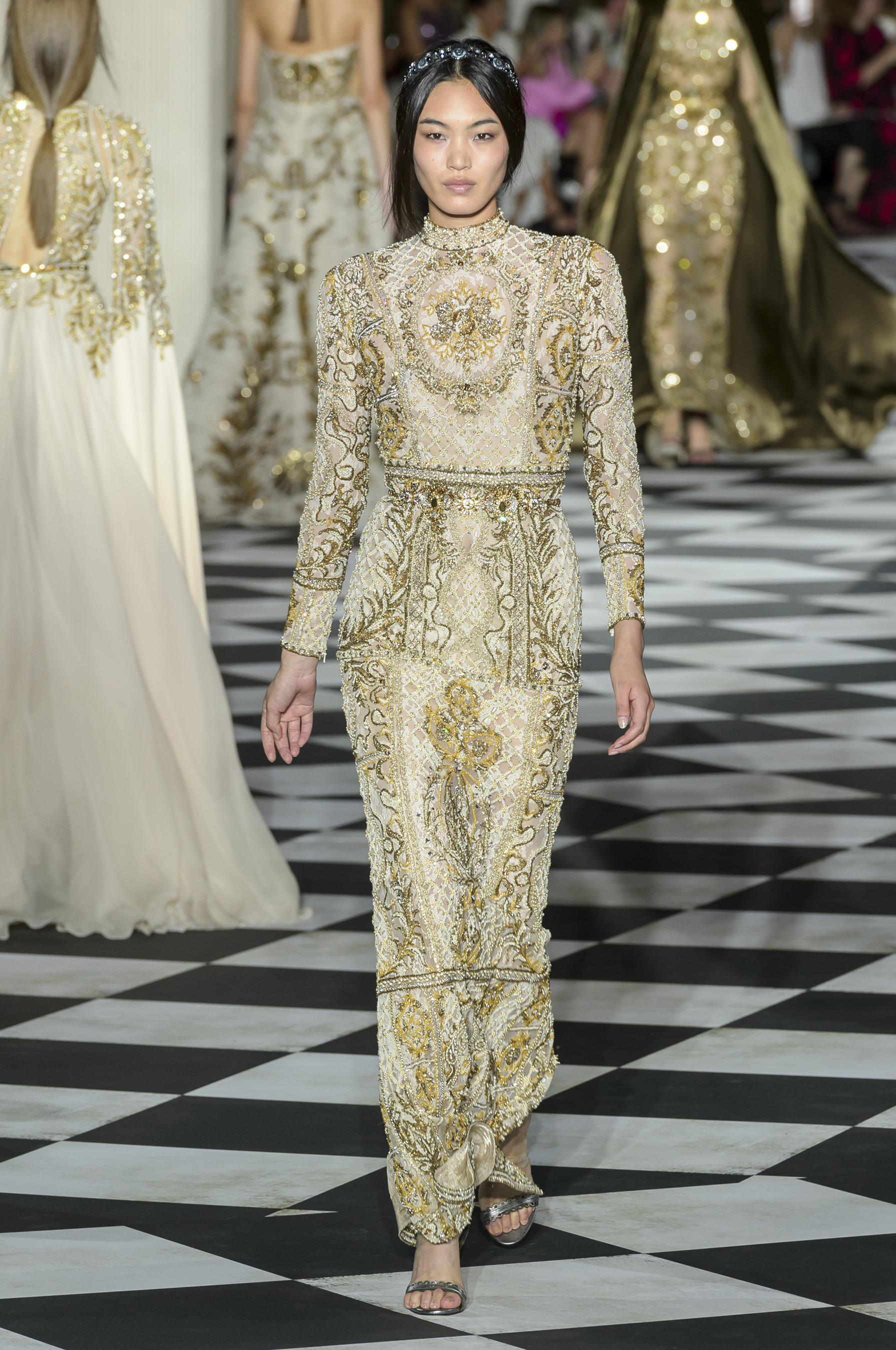 Défilé Zuhair Murad Automne Hiver 2018 2019 Couture Madame Figaro