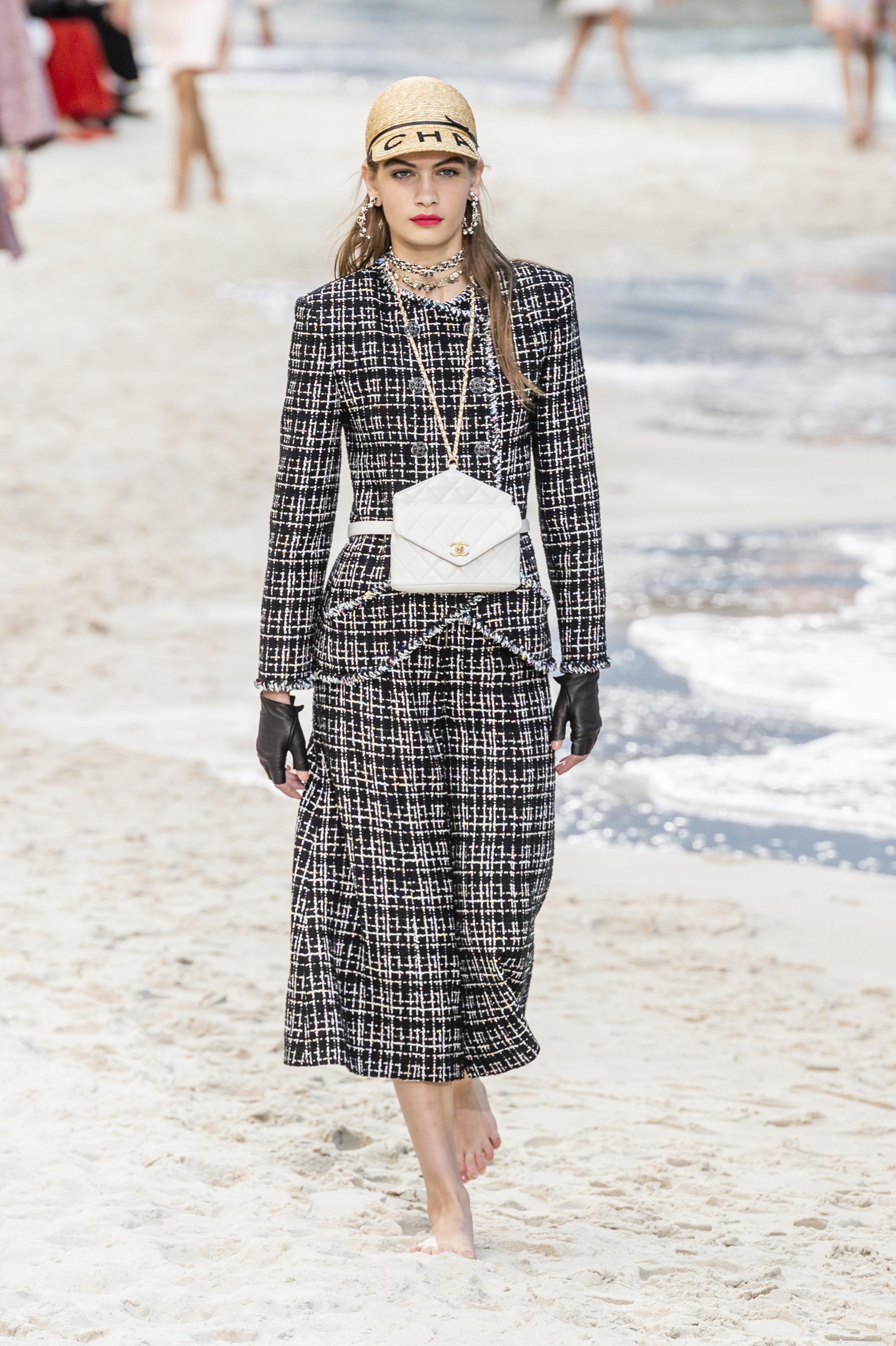 795a2d626d22a3 Défilé Chanel printemps-été 2019 Prêt-à-porter - Madame Figaro