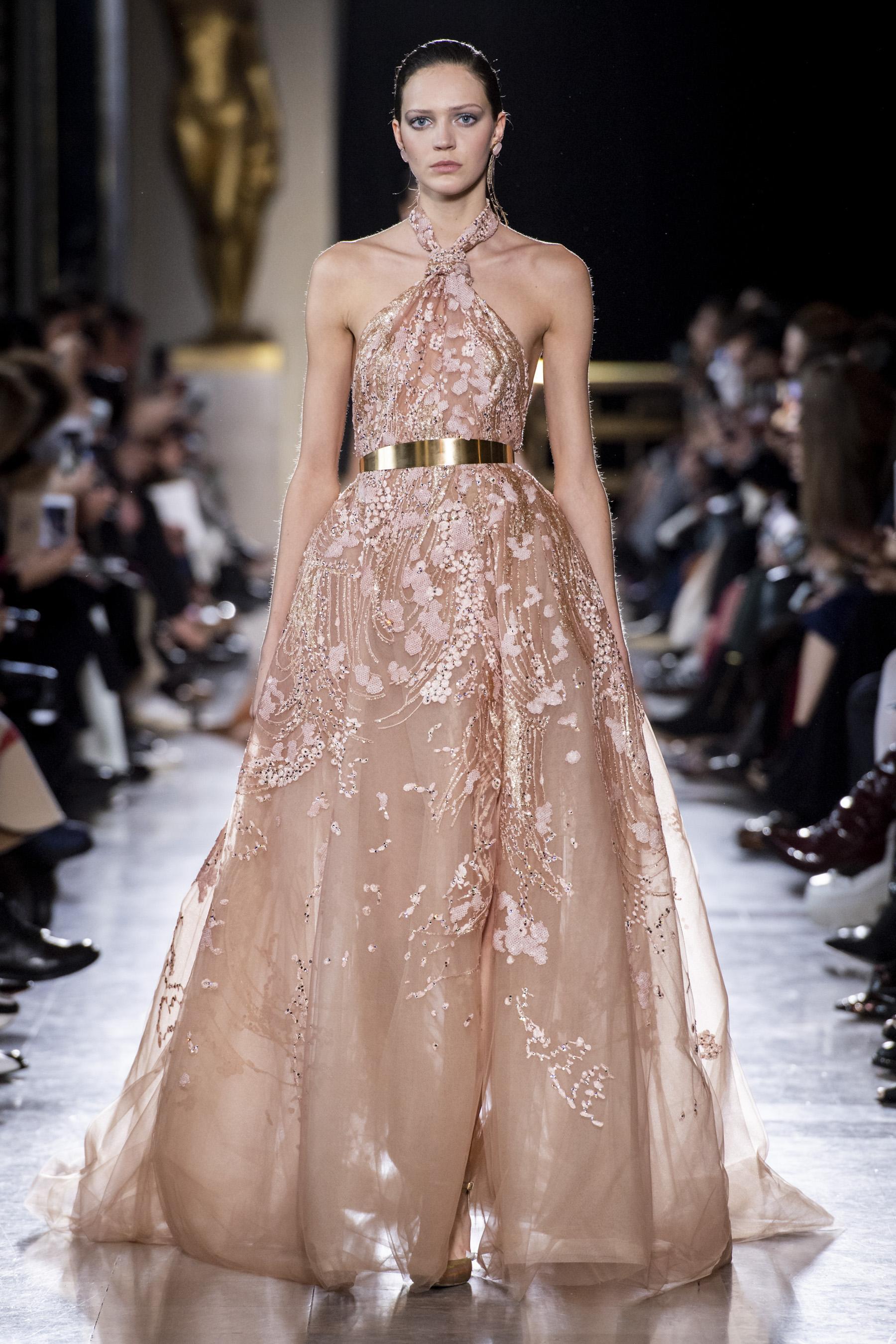 0d96697717b Défilé Elie Saab printemps-été 2019 Couture - Madame Figaro