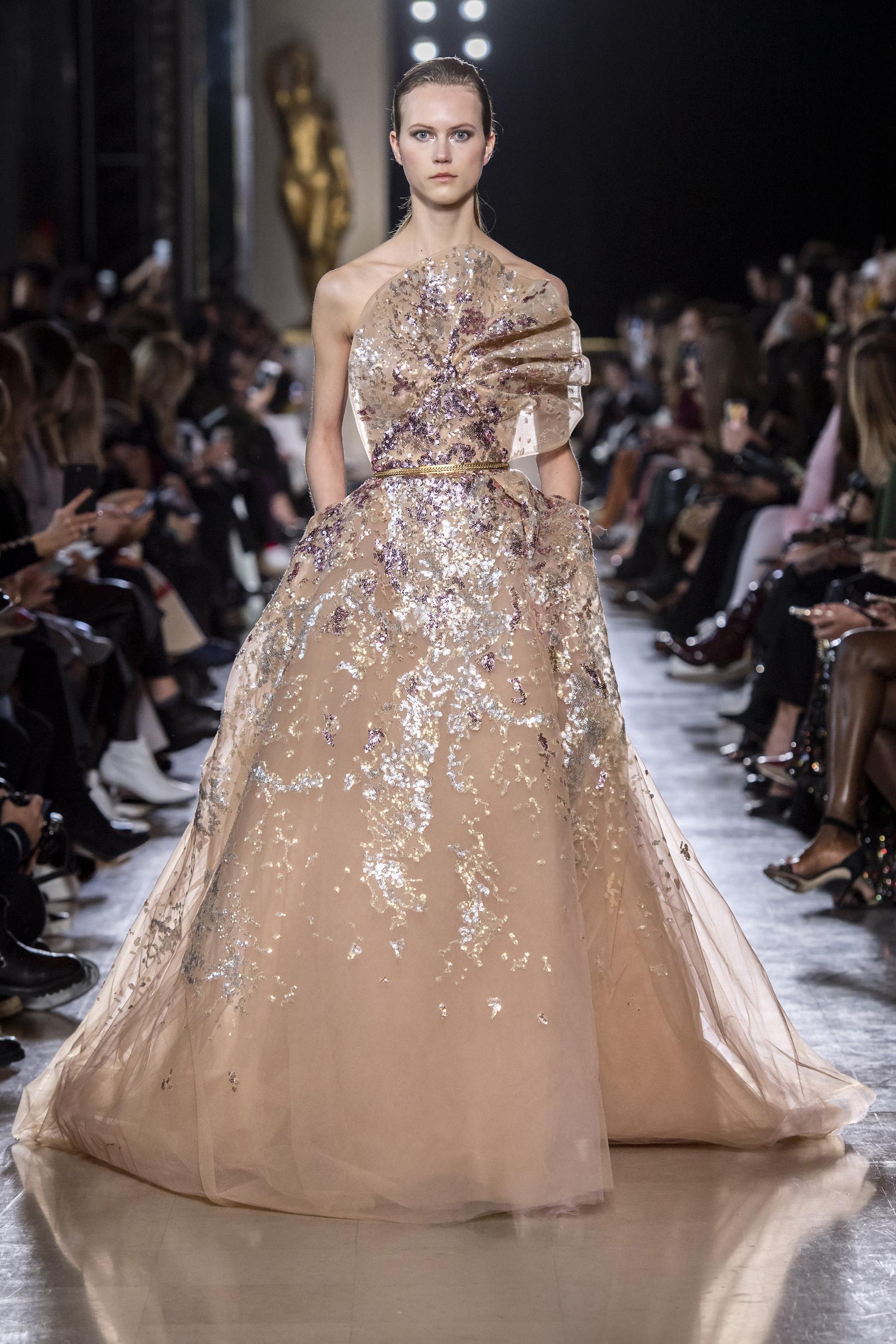 940e4266ea9 Défilé Elie Saab printemps-été 2019 Couture - Madame Figaro
