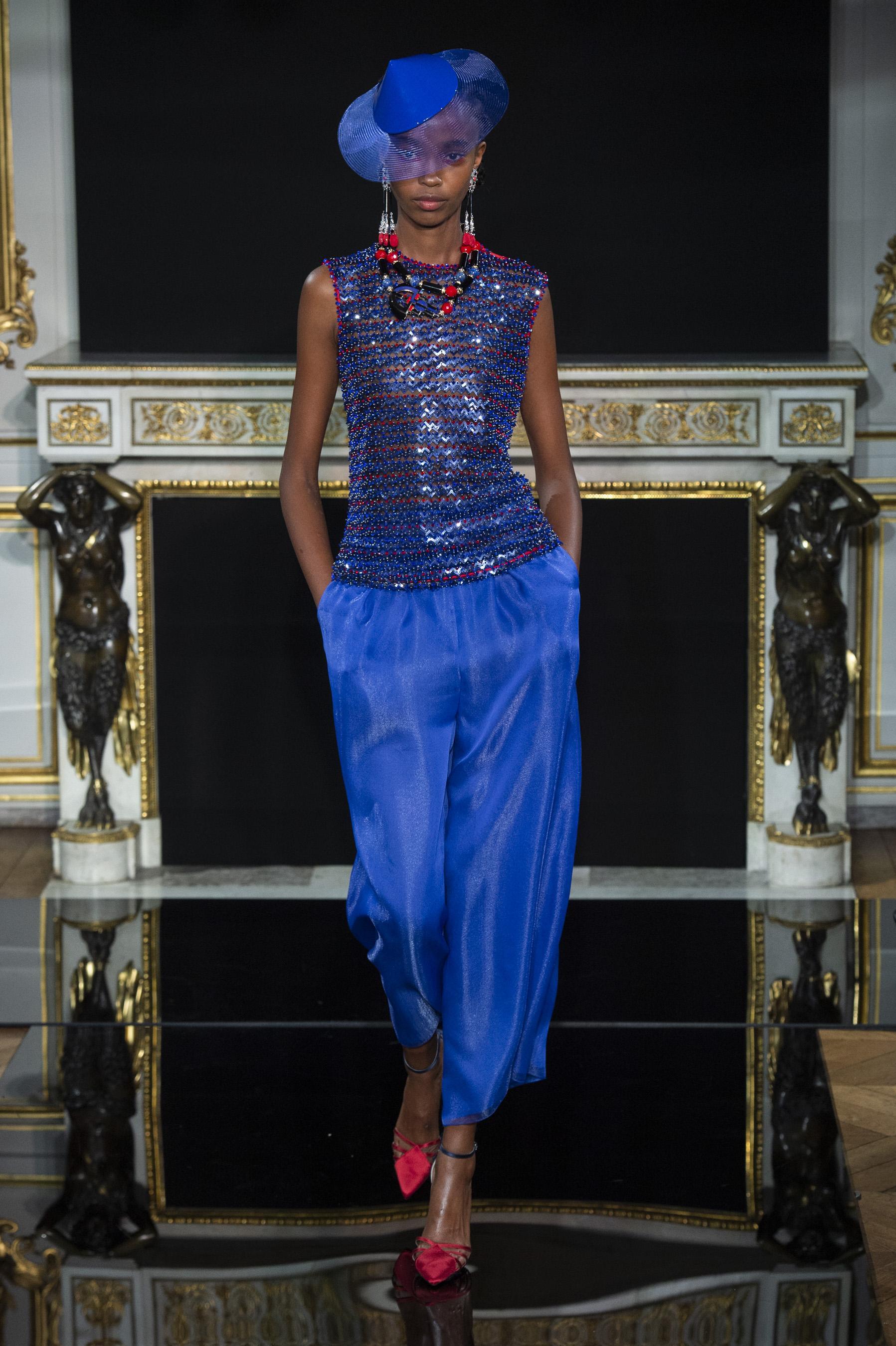 Été Printemps Couture Figaro Giorgio Privé Défilé Madame Armani 2019 kZPTOXiu