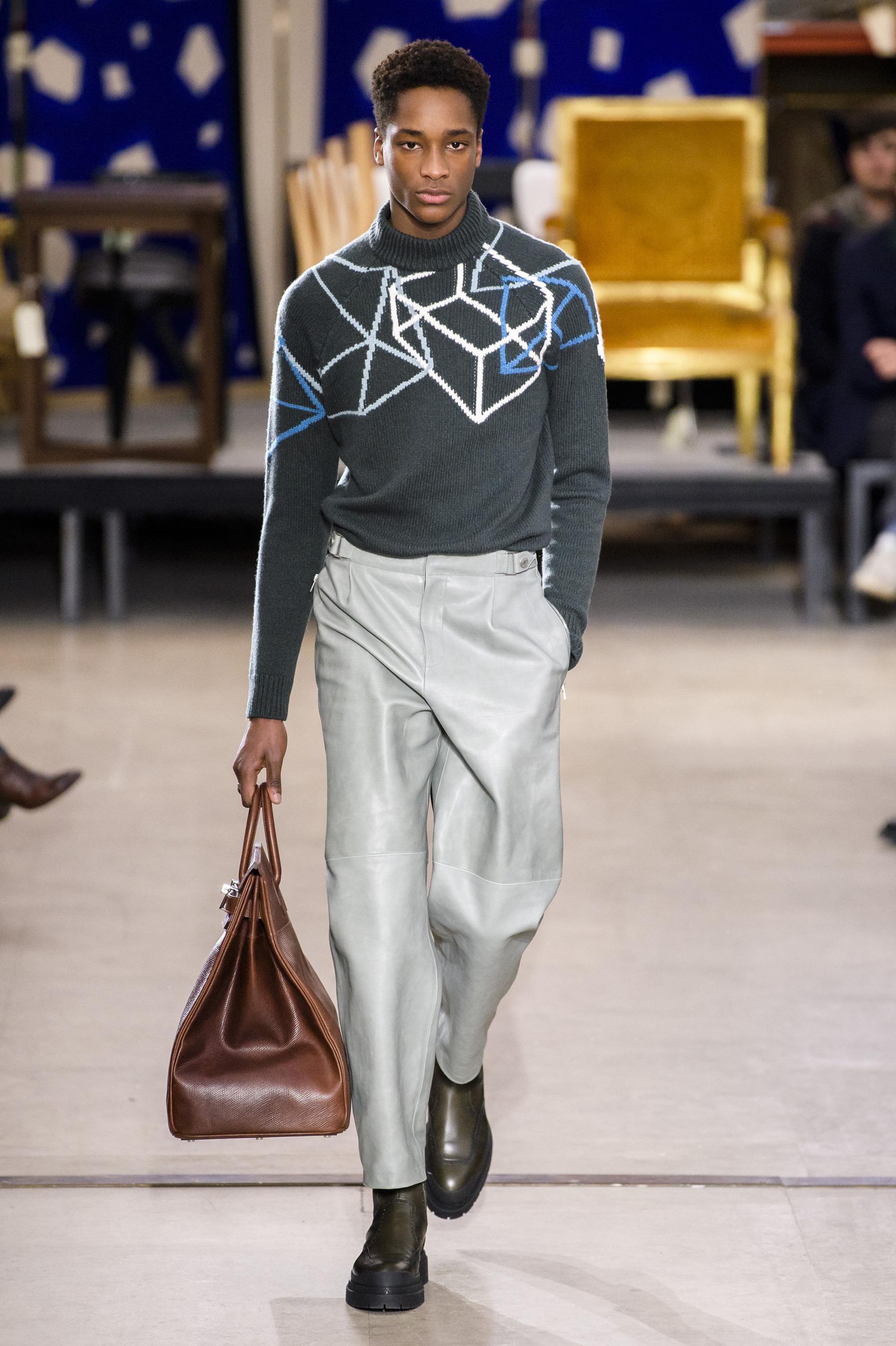 946dc2e26fa Défilé Hermès automne-hiver 2019-2020 Homme - Madame Figaro