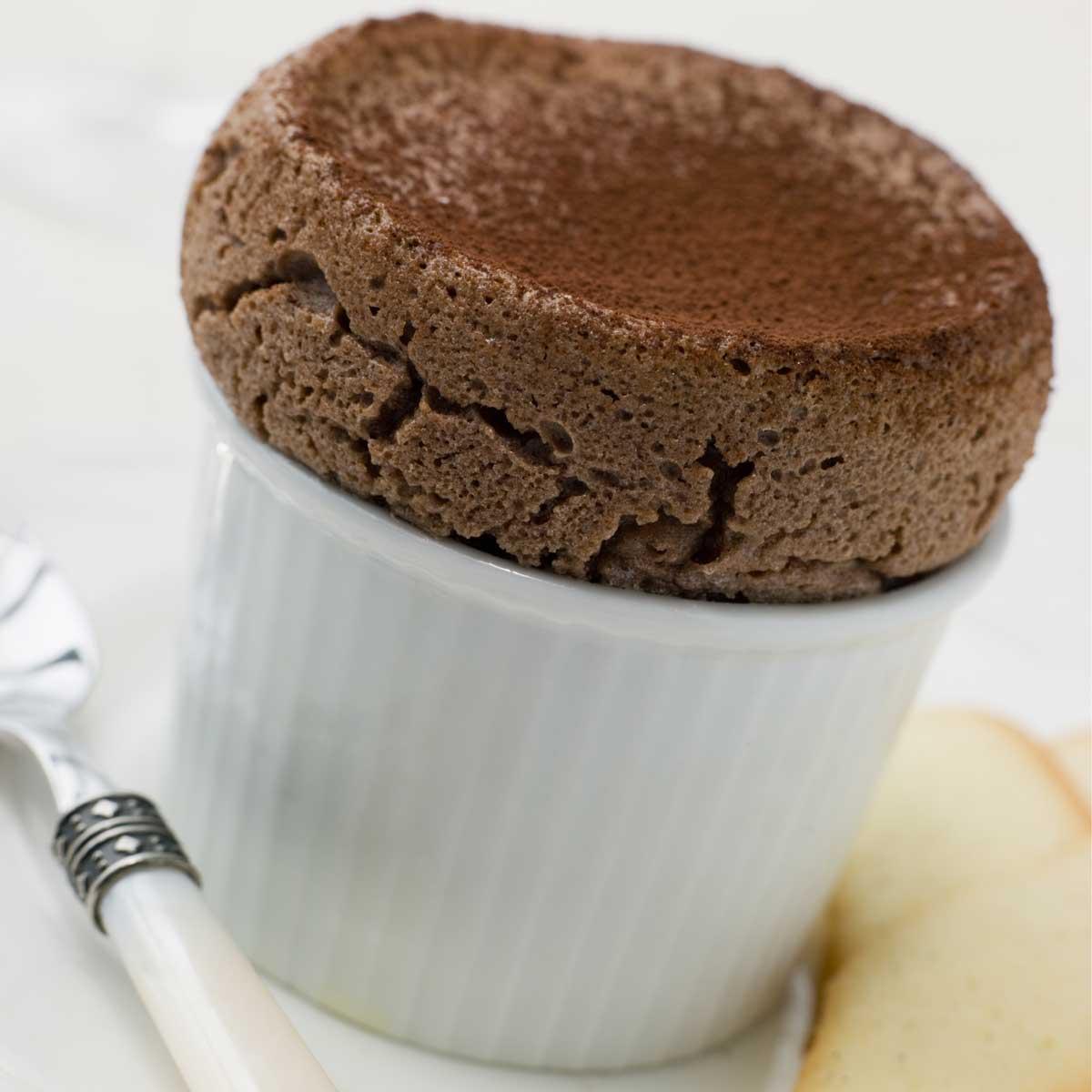 Recette Souffle Au Chocolat Cuisine Madame Figaro