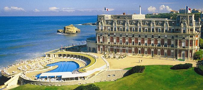 Attractive Lu0027Hôtel Du Palais, à Biarritz.
