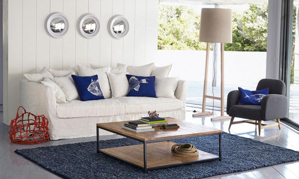D co cap sur la tendance bord de mer madame figaro - Decoration appartement bord de mer ...