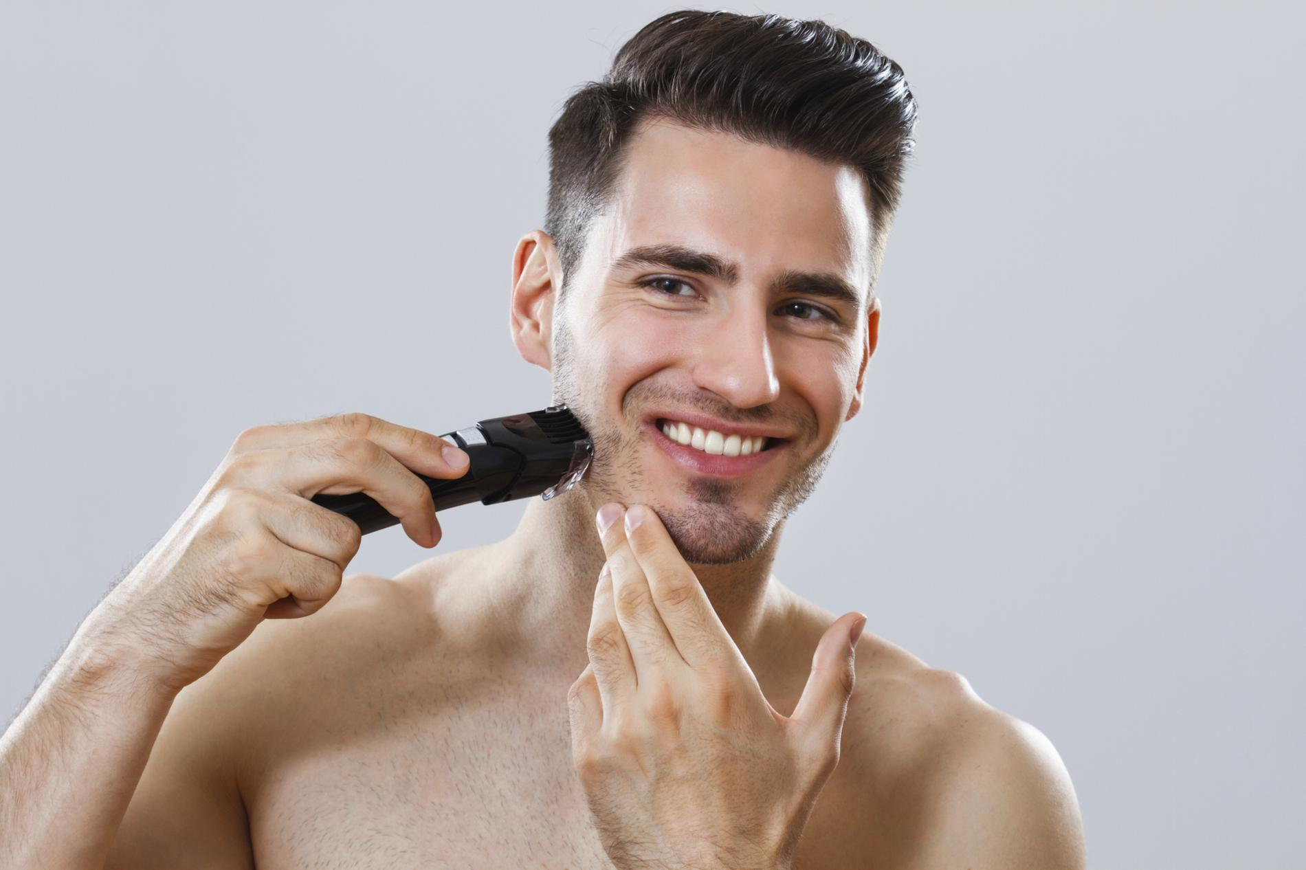 comment tailler sa barbe la tondeuse cheveux madame figaro