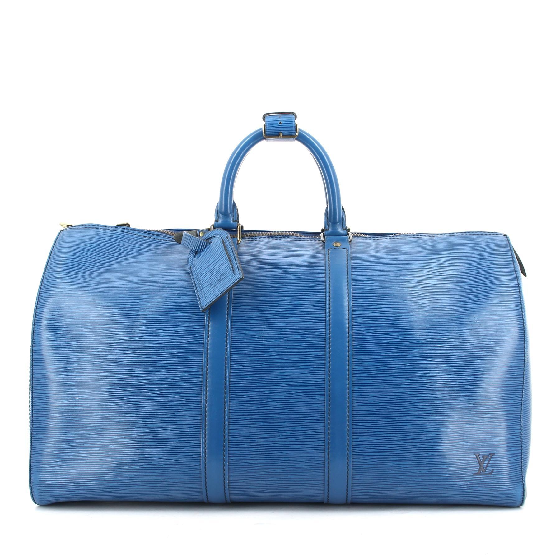 nouveau style 29ff0 b81f9 Le chic nomade du sac Keepall de Louis Vuitton - Madame Figaro