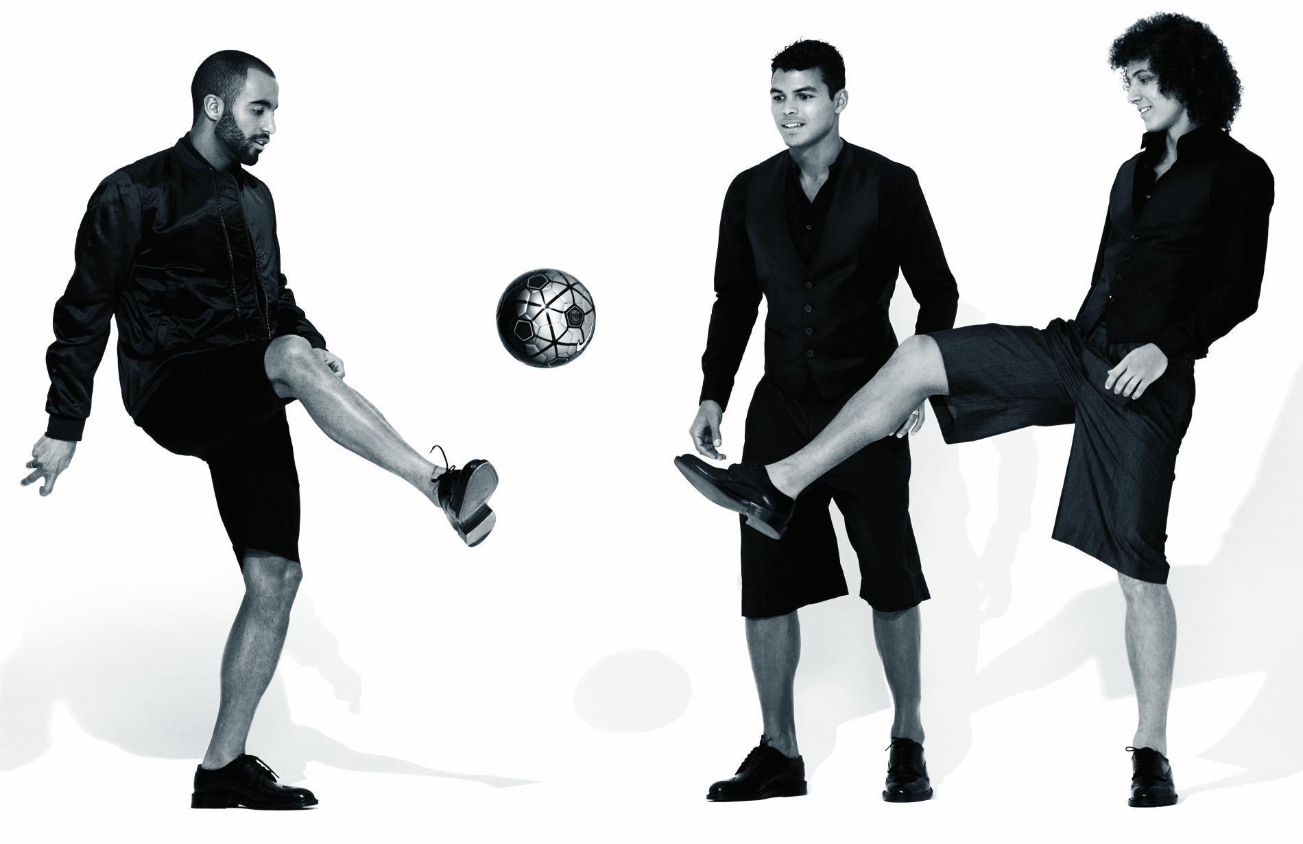David Luiz, Thiago Silva et Lucas Moura : dieux du foot