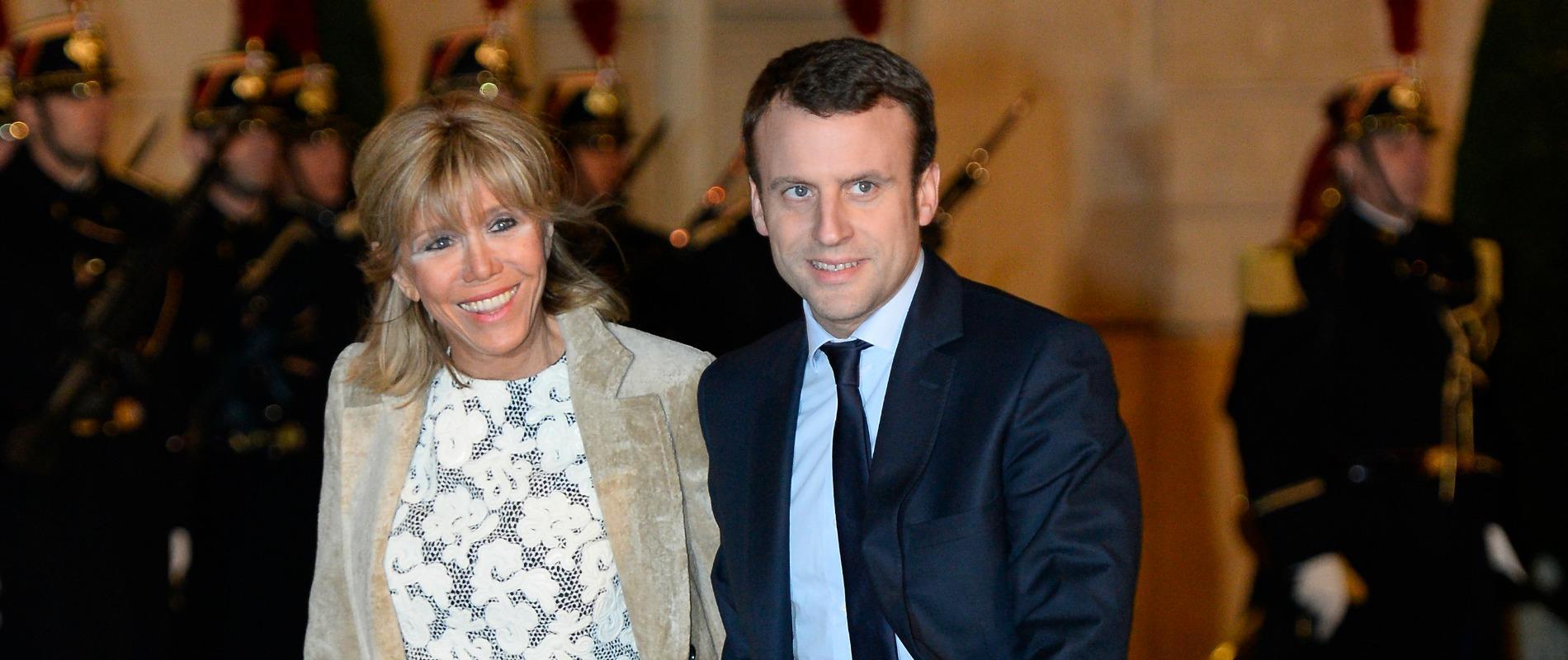 Macron La Place De Sa Femme Dans Son Role De Ministre Madame Figaro