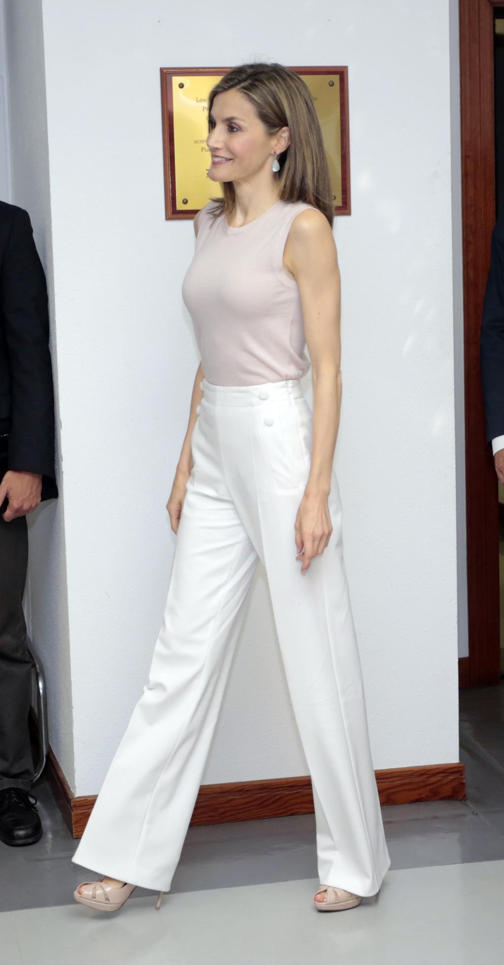 Porter Figaro Comment Le BlancMadame Pantalon UMSqpzV