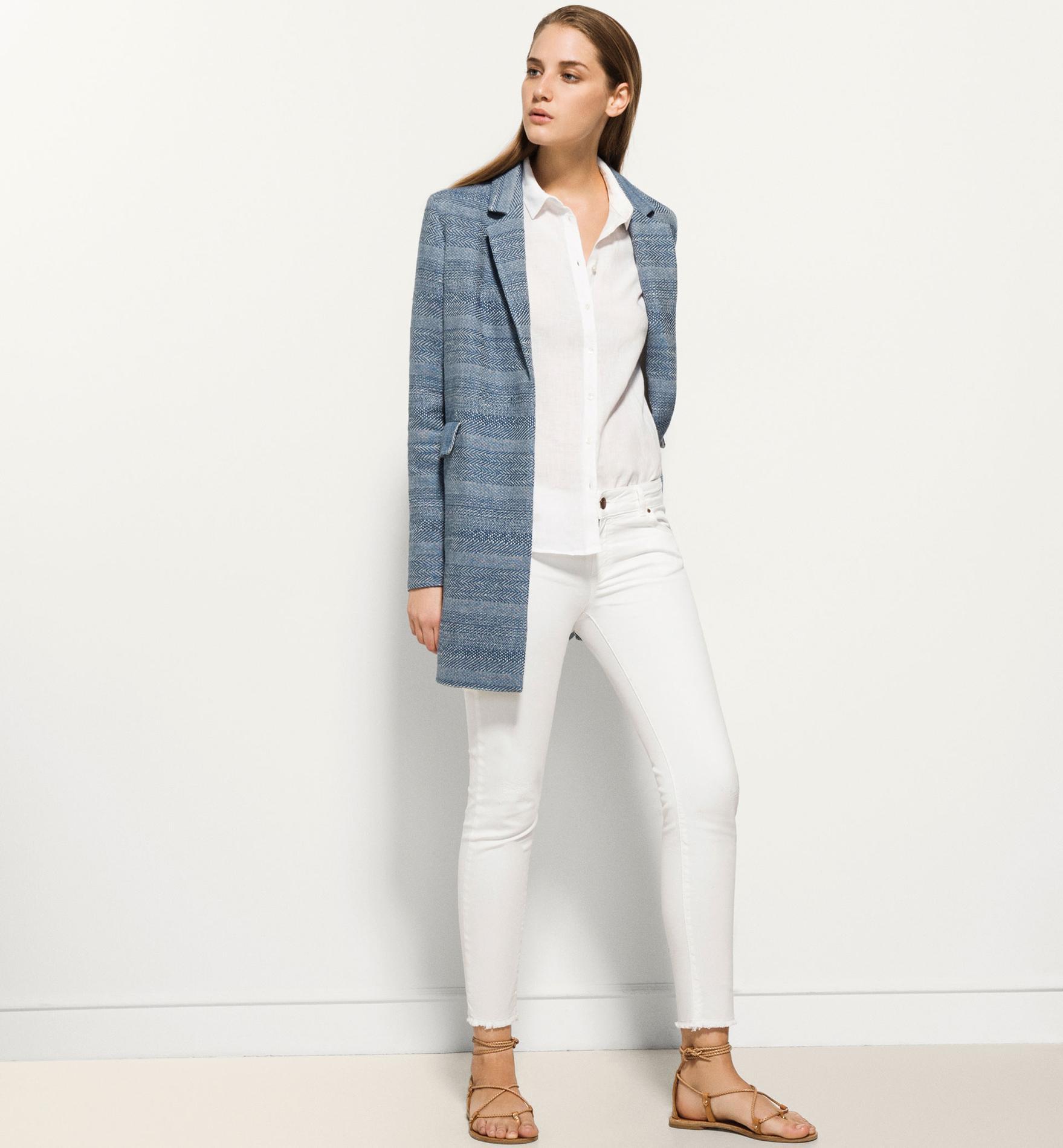 9495361da1516 Comment porter le pantalon blanc ? - Madame Figaro