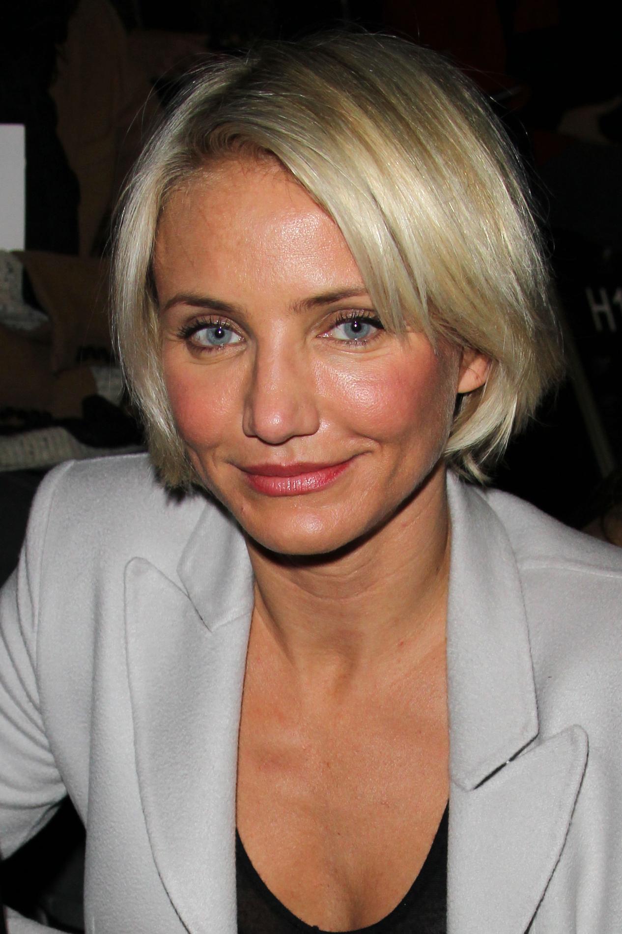 Cameron Diaz La Reine Du Blond Californien Madame Figaro