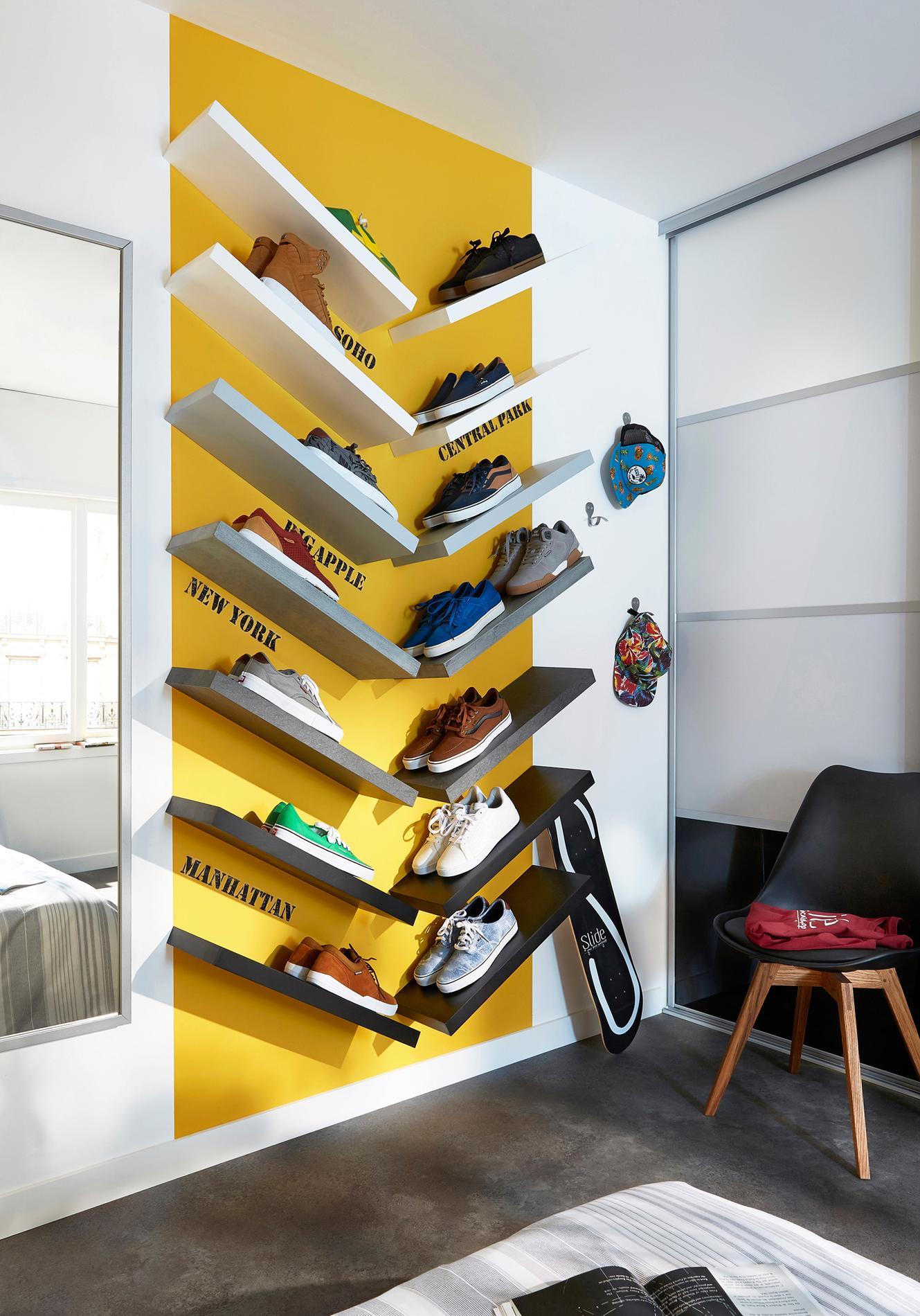Comment Ranger Ses Chaussures comment ranger 60 paires de chaussures dans un deux-pi�ces