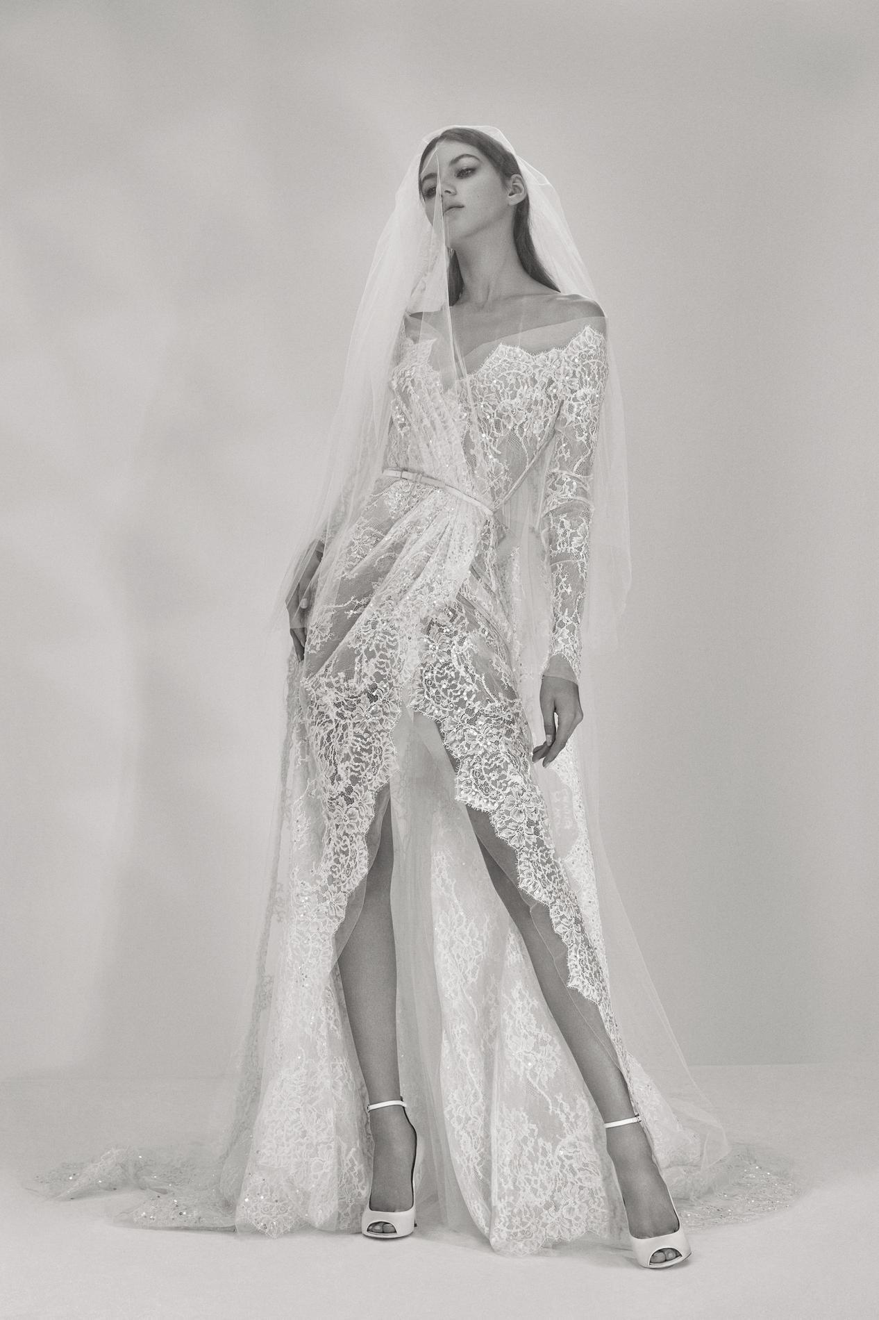 0da0554cc4e Le voile de mariée va-t-il détrôner la couronne de fleurs   - Madame ...