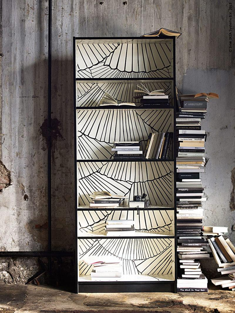 Tapisser Porte De Placard dix conseils pour customiser ses meubles ikea - madame figaro