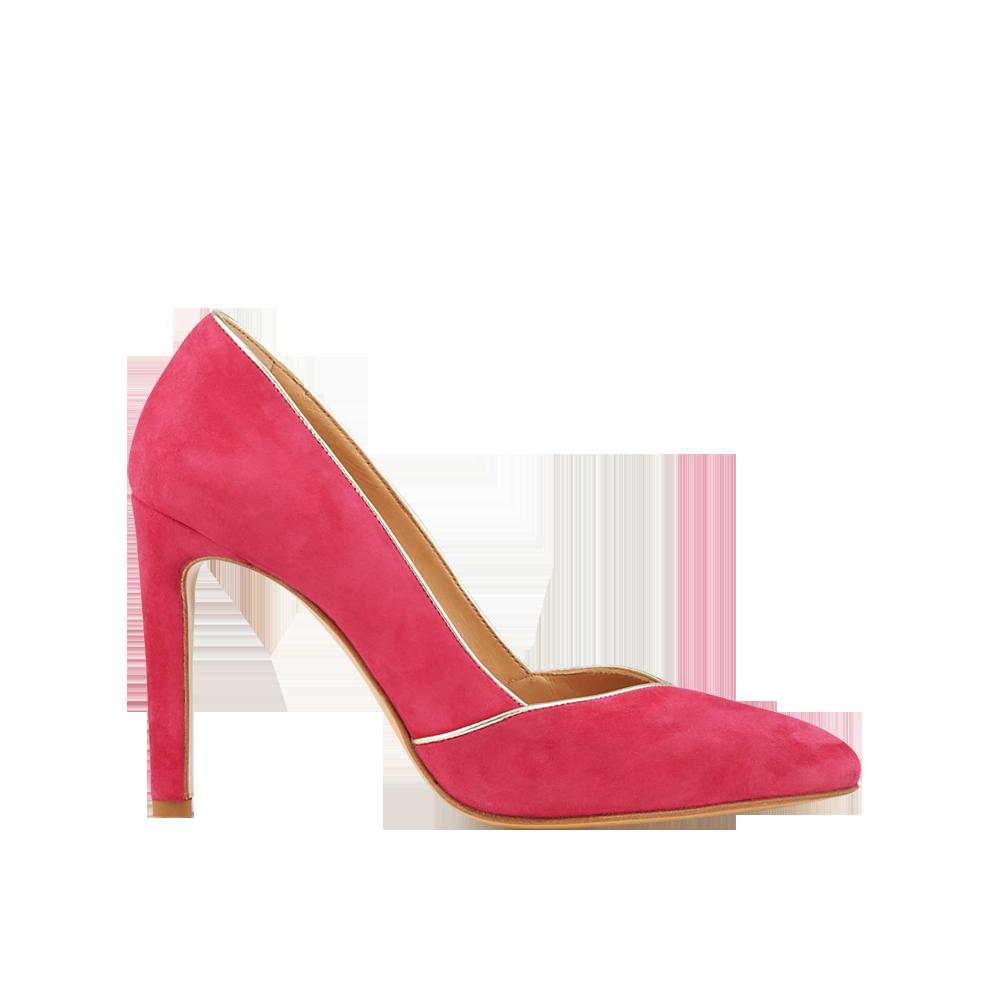 bc06d9b56c3355 ... Des chaussures colorées pour égayer la tenue de la mariée - Minelli ...