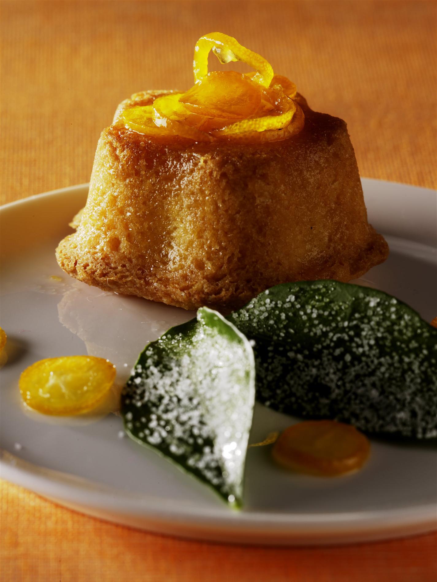 Cake au citron et kumquats