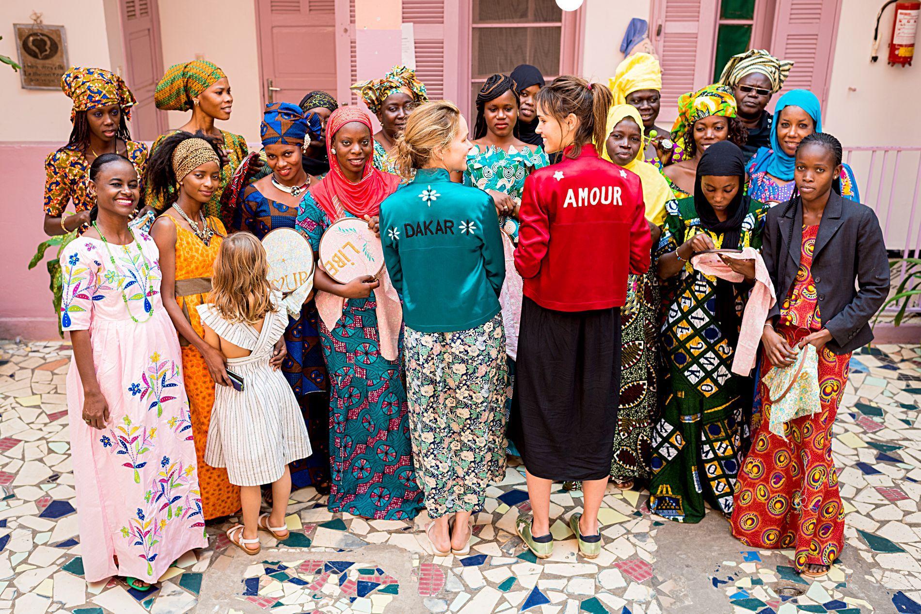 Dakar la maison rose d di e aux femmes et la r insertion madame figaro - Eugenie les bains la maison rose ...