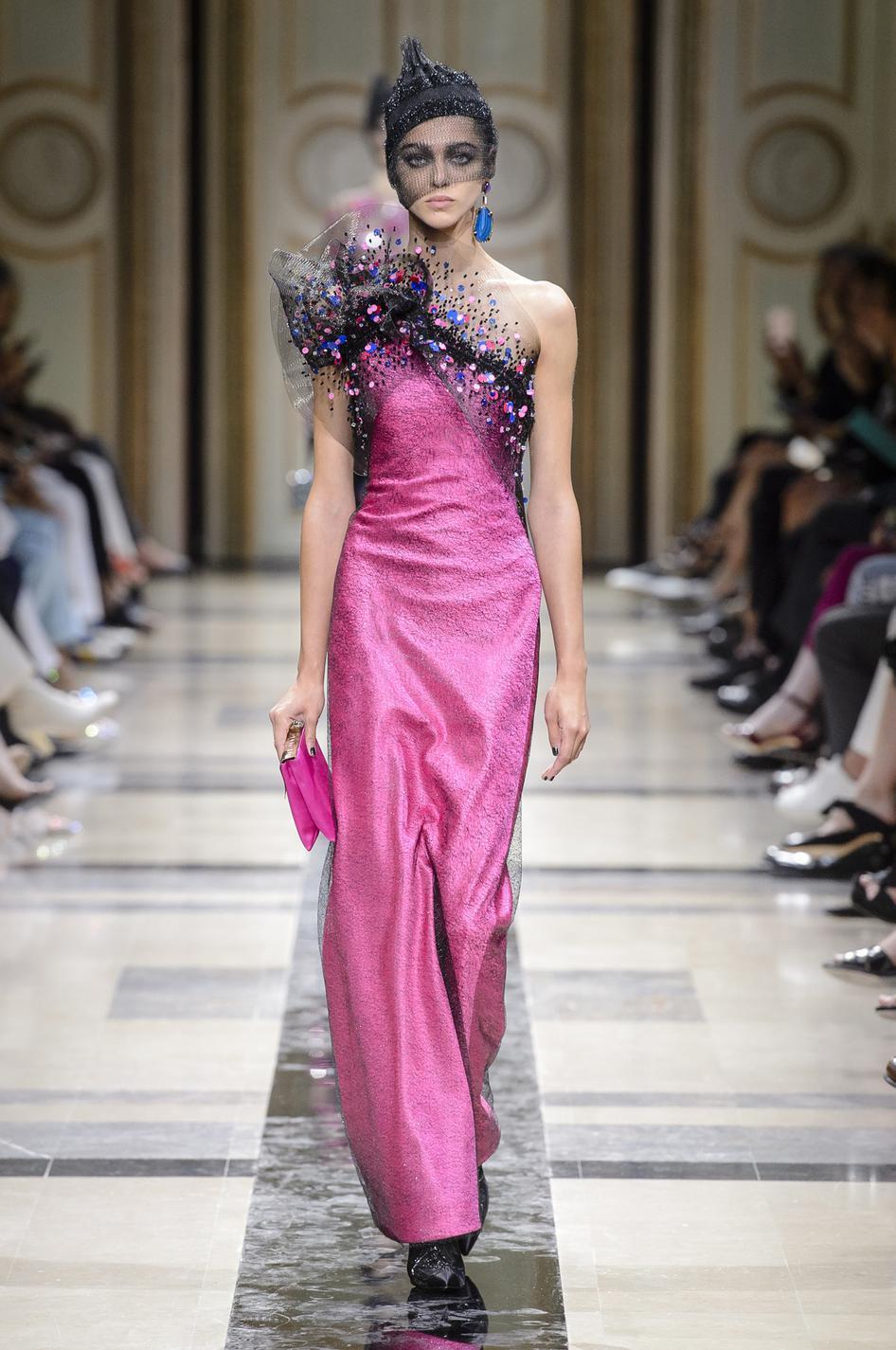 Haute couture 2018  les robes de rêve , Giorgio Armani Privé