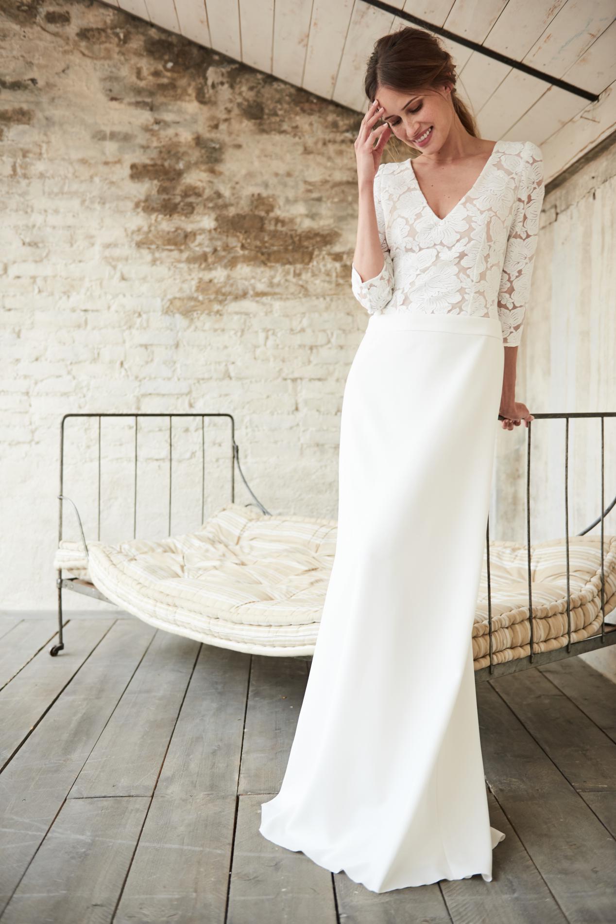 Quelle Robe De Mariée Pour Dire Oui En 2018 Madame Figaro