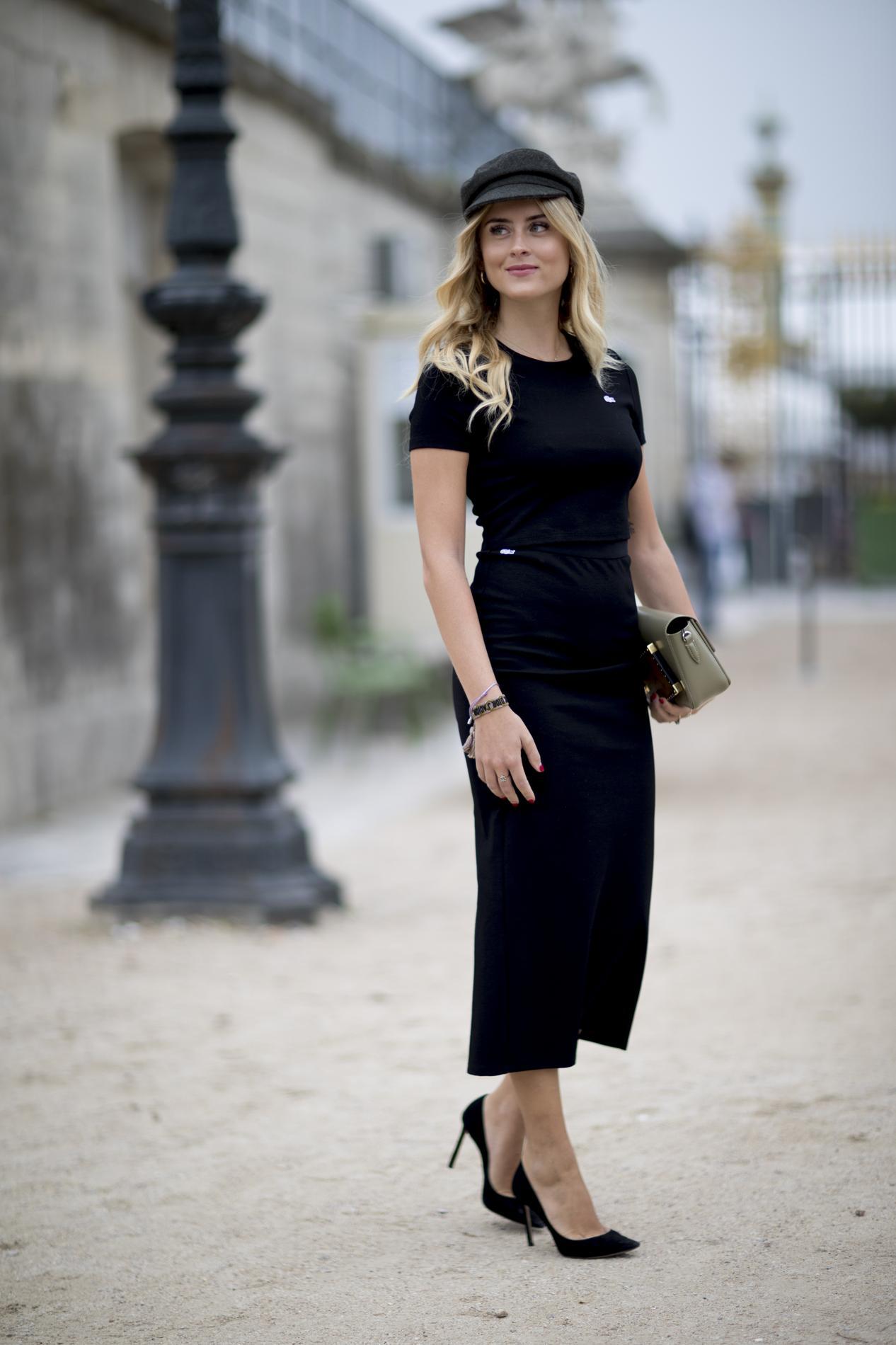 grossiste b01cb 2c137 Béret ou casquette, les Parisiennes n'en font qu'à leur tête ...