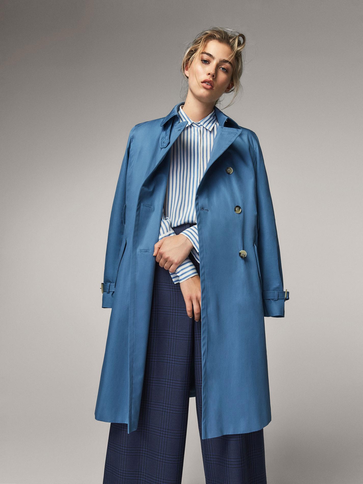 Des manteaux cirés qui vont nous faire aimer la pluie