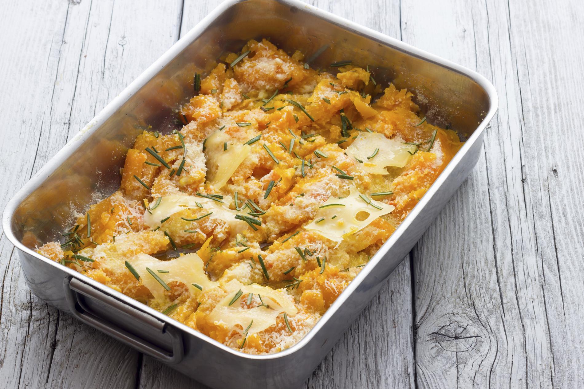 Recette Gratin Au Potiron Cuisine Madame Figaro