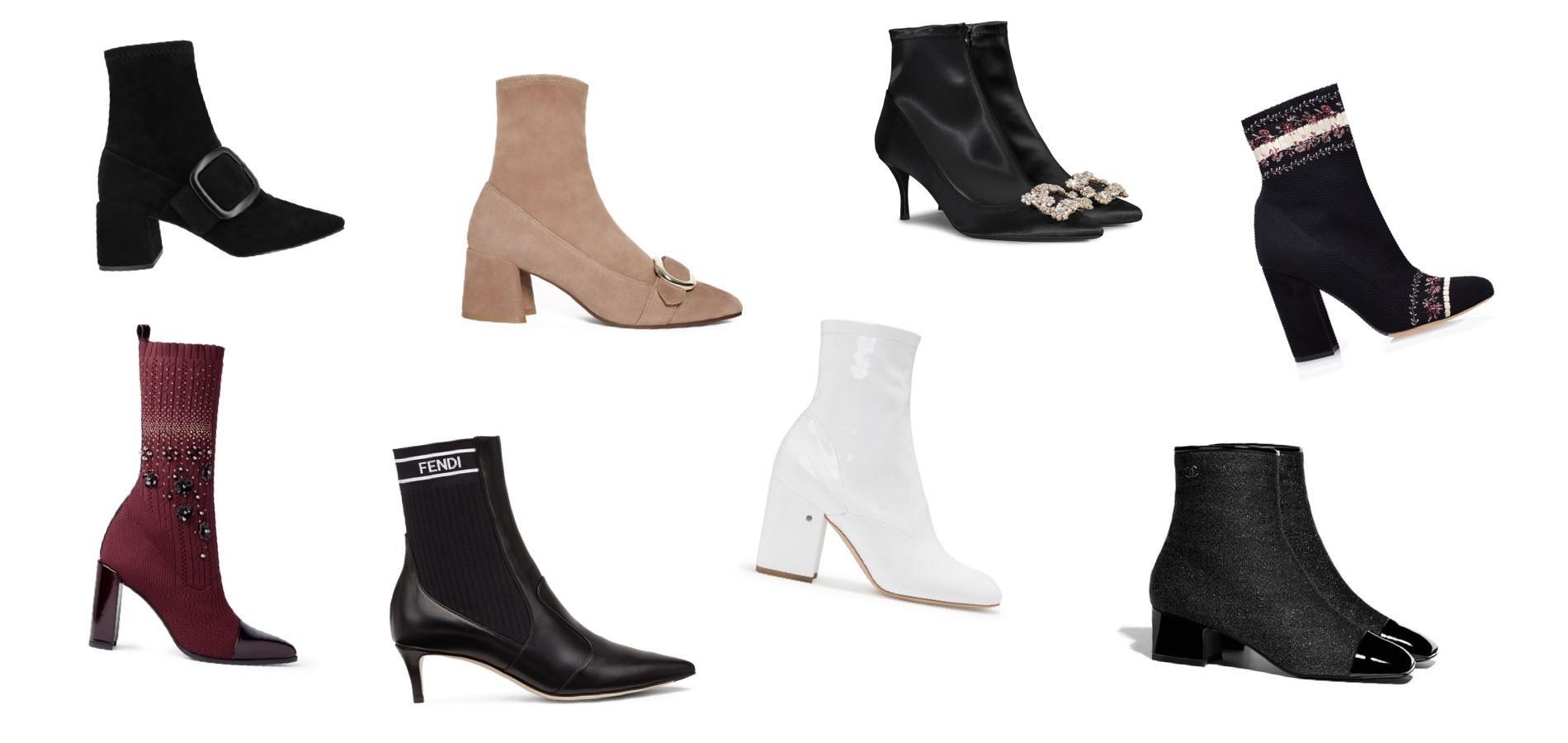 grandes marques marque populaire top design La bottine-chaussette, mode d'emploi - Madame Figaro