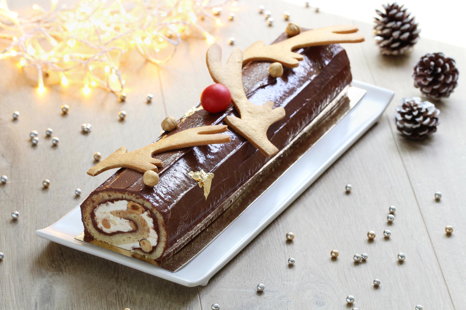 Recette Buche De Noel Facile.Bûche De Noël Au Nutella