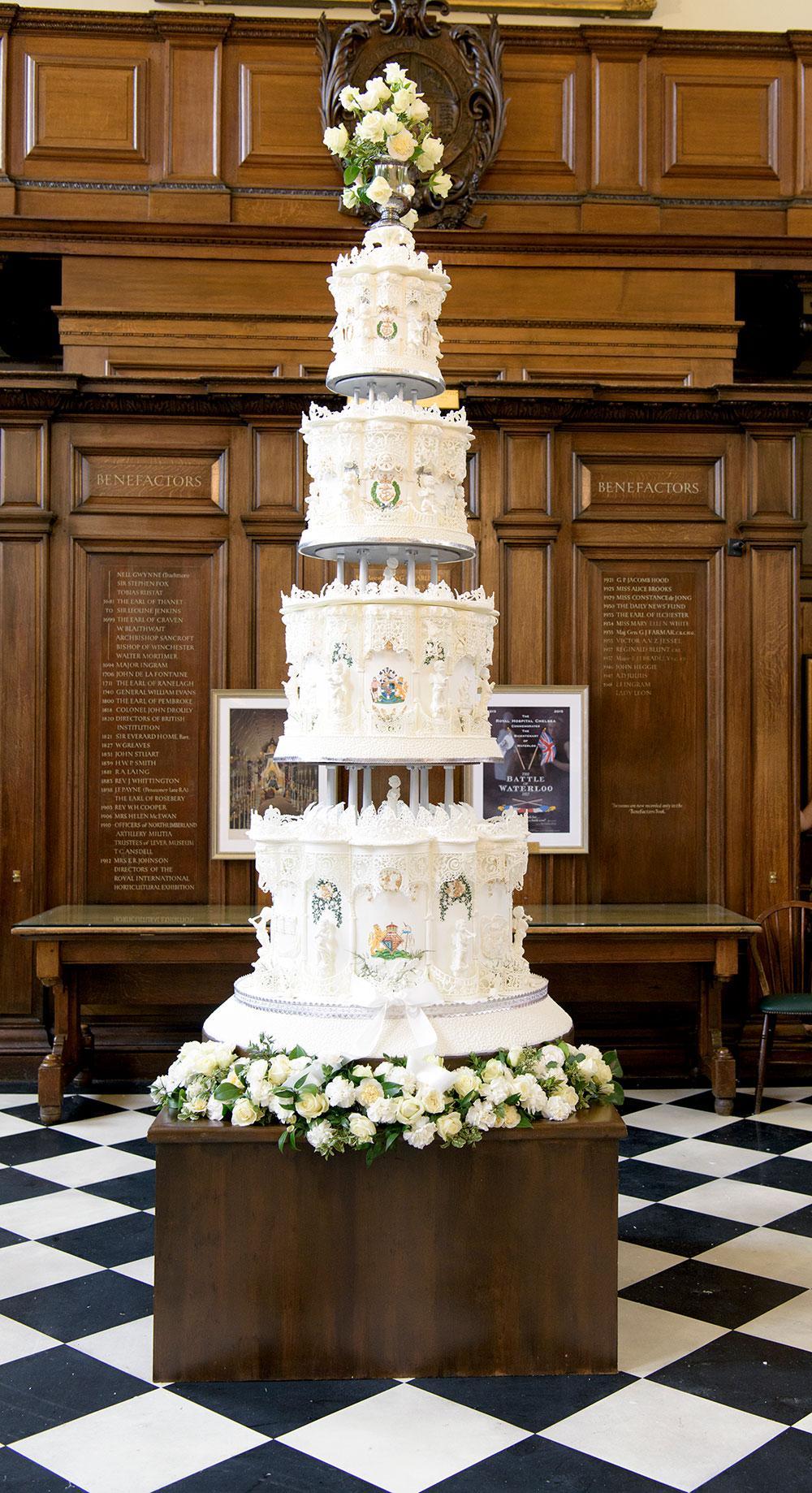 Lépoustouflant Gâteau De Mariage De La Reine Elizabeth Ii
