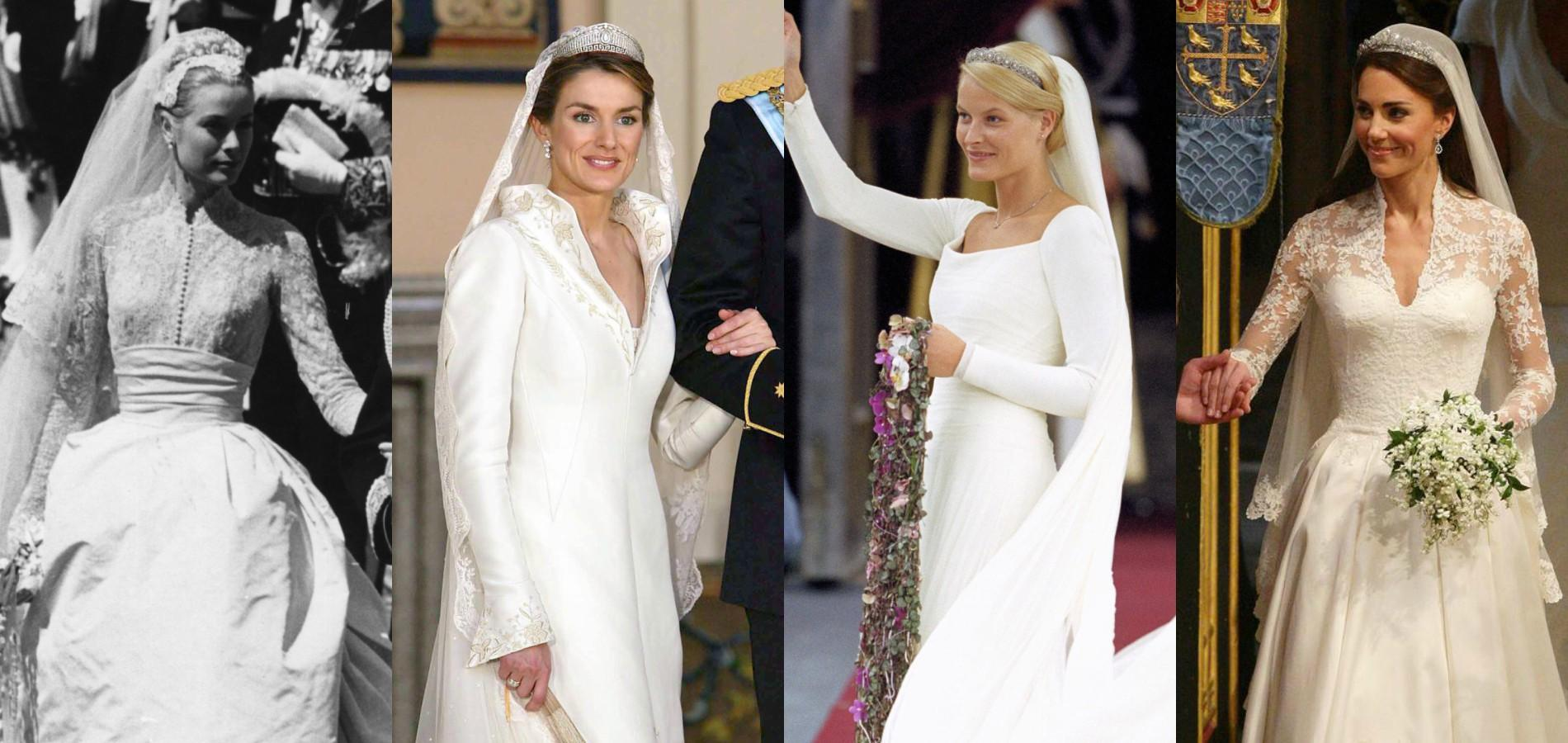 Kate Middleton Grace Kelly Letizia Despagne Les Robes