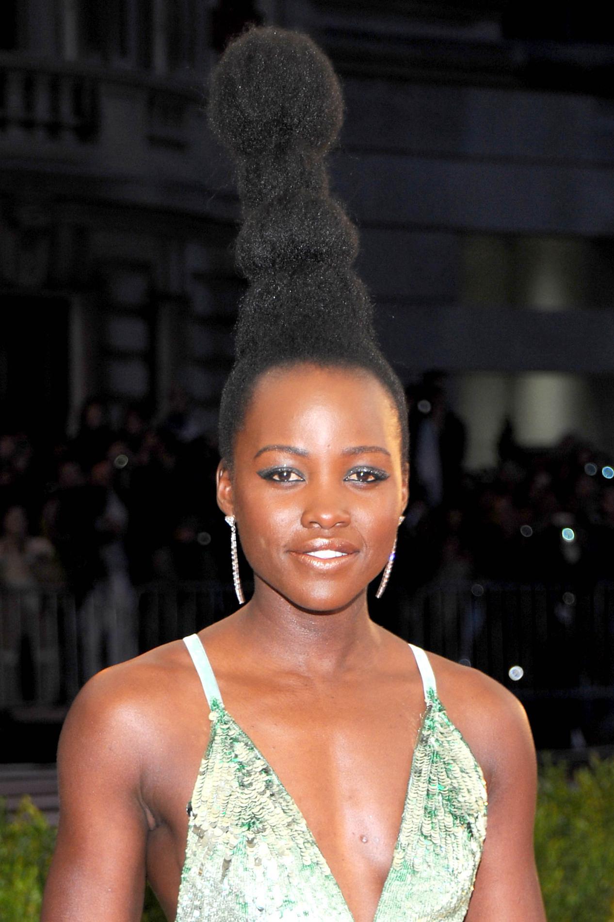 Chignons Tresses Turbans Lupita Nyongo Inspirante