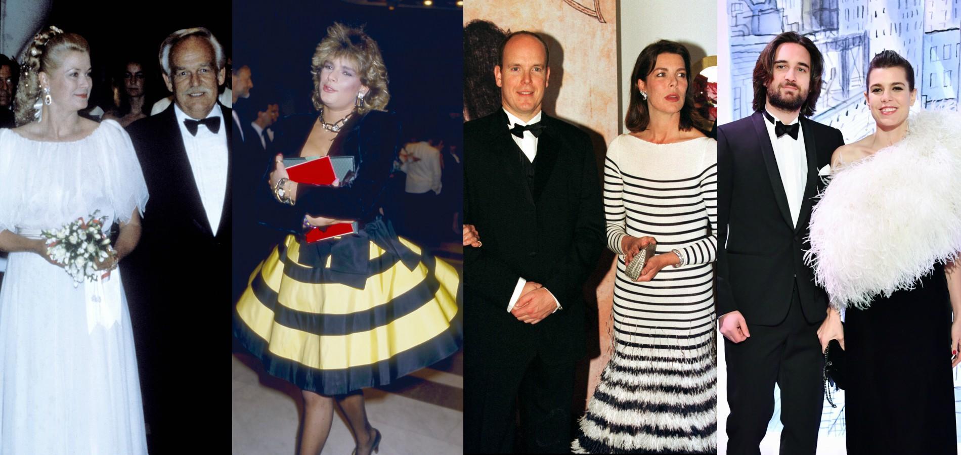 e049490457 Bal de la Rose à Monaco : de Grace Kelly à Charlotte Casiraghi, plus de 60  ans de looks en images