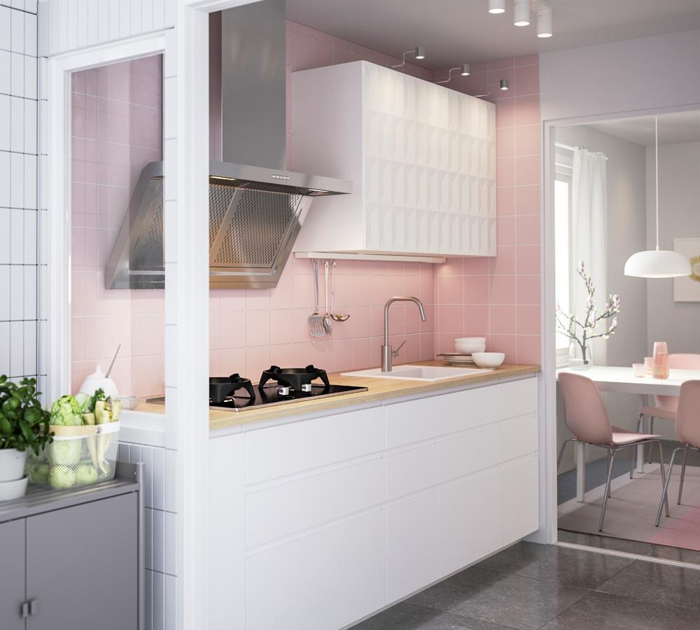 Cuisine Aménagée En Longueur comment aménager une cuisine en longueur ? - madame figaro