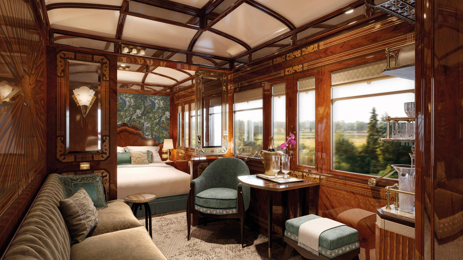 La luxueuse métamorphose du Venise Simplon-Orient-Express - Madame Figaro
