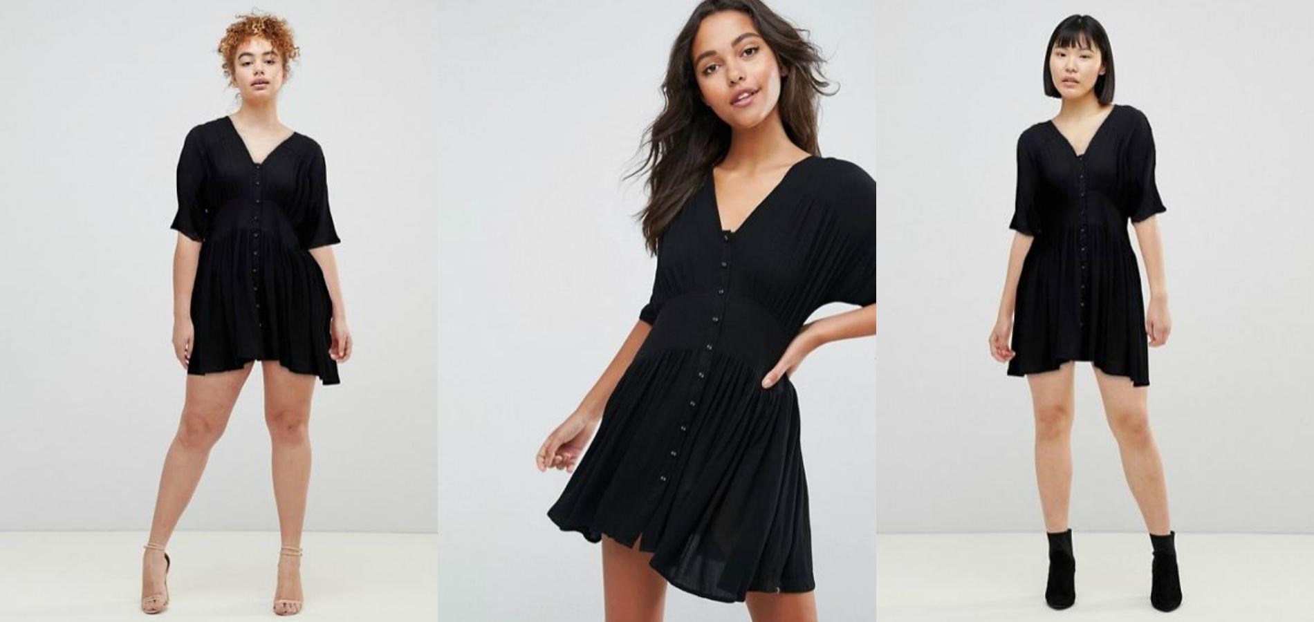 b2d7309c3ed La petite robe noire Asos. Asos ...