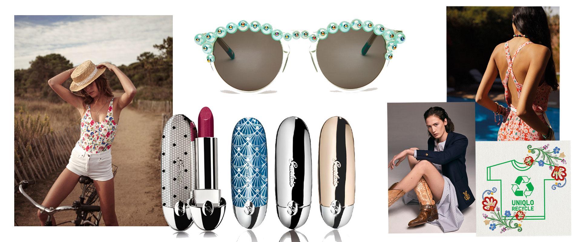 bc5d1920e6e92 Cette semaine, on rêve à l'été avec Princesse tam.tam x Elisa Nalin, la  nouvelle collection de maillots de bain Ysé et les lunettes Freda Banana.