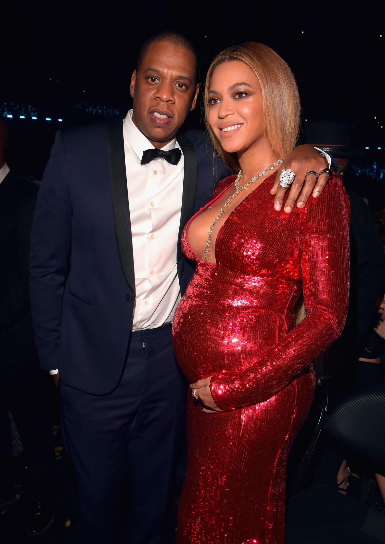 Beyoncé \u0026 Jay,Z , 59e Cérémonie des Grammy Awards