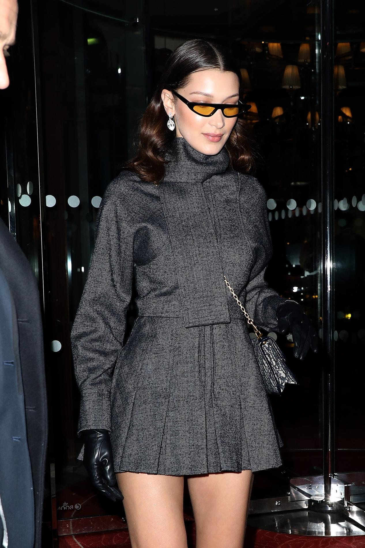 Audrey MossBella Icônes S'inspire Hadid… Des De HepburnKate On OPuTXZki