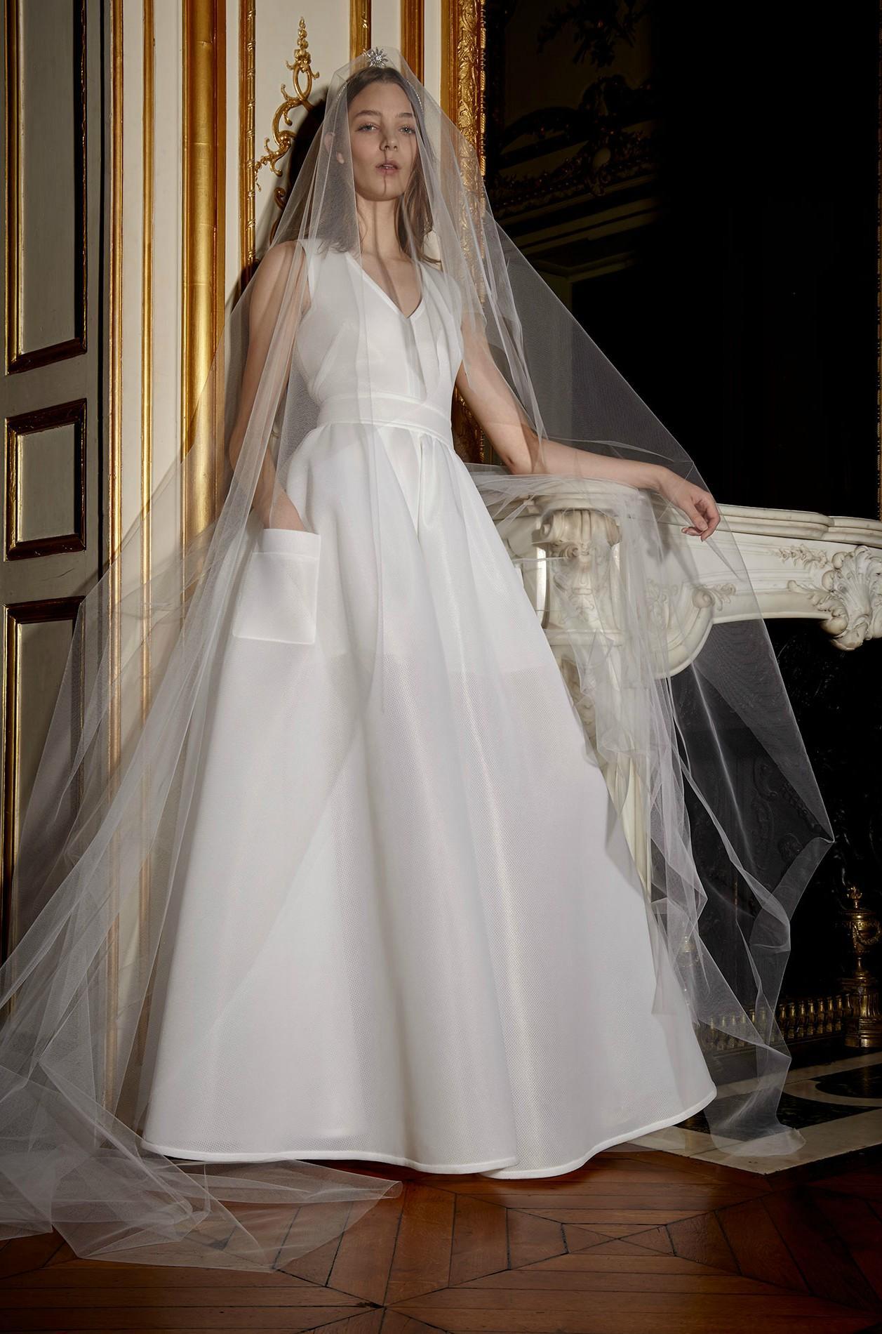 ca7f746dcd6 ... Notre sélection de robes de mariée à moins de 500 euros - Alexis  Mabille x Monoprix ...