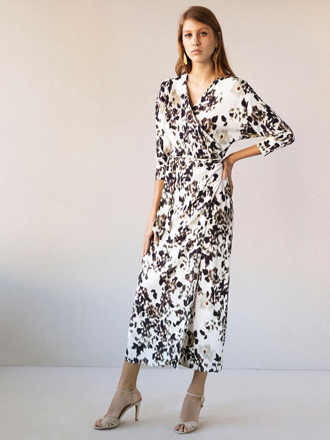 6657328c9ab4f ... H&M Des robes portefeuille pour femme enceinte (ou non) - Intropia ...