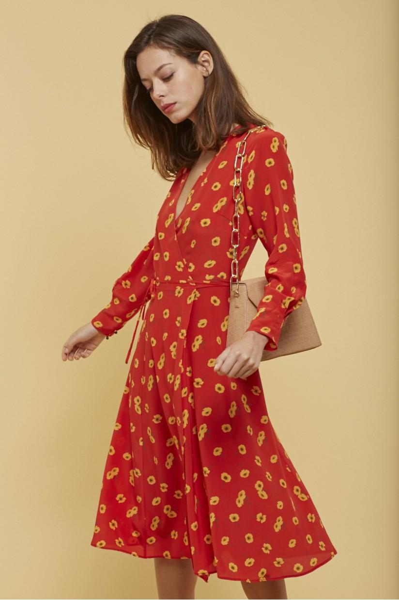 faffdc8485965 ... Des robes portefeuille pour femme enceinte (ou non) - Alice and Olivia Des  robes portefeuille pour femme enceinte (ou non) - H&M Des robes portefeuille  ...