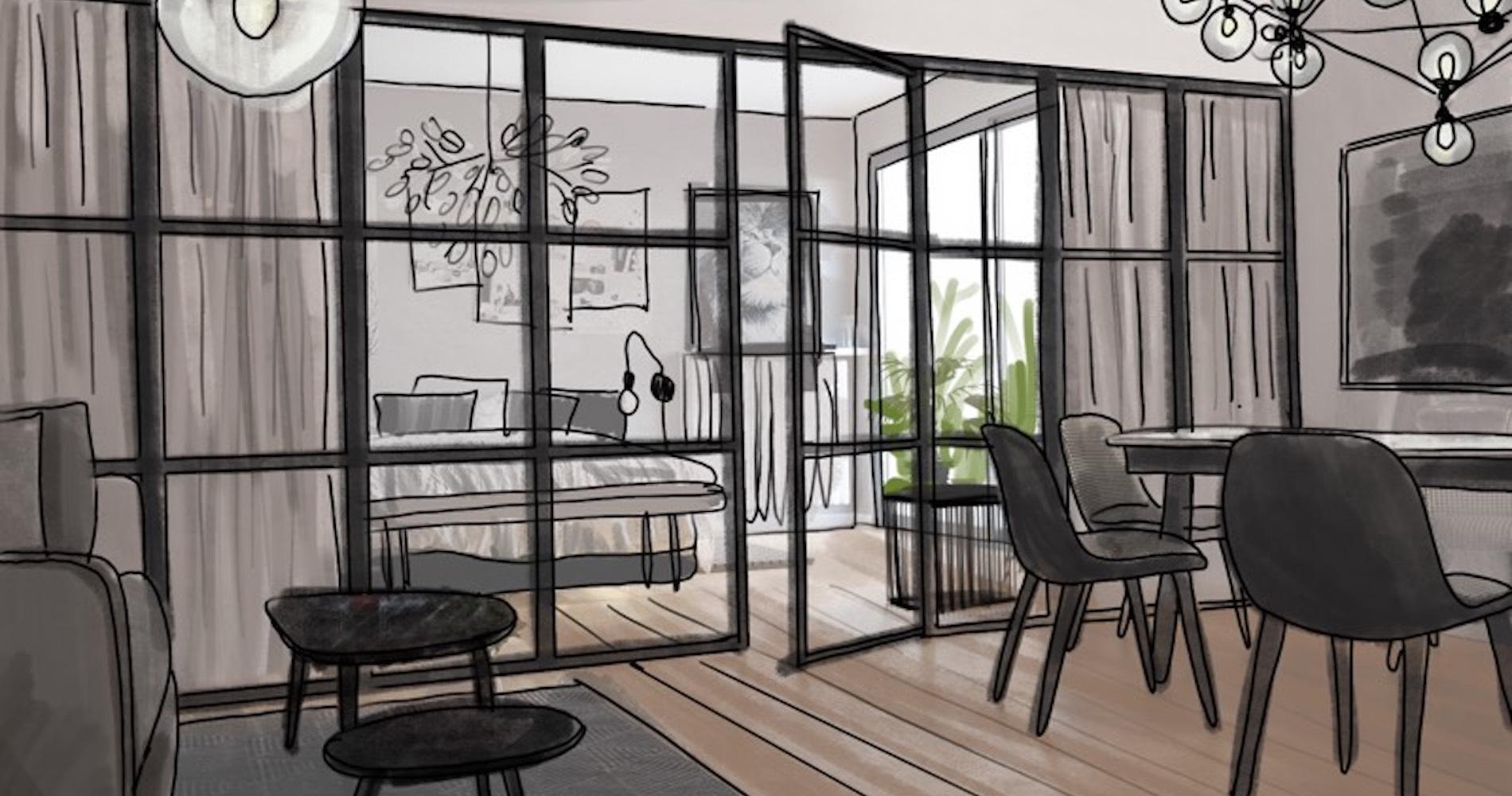 Comment créer un coin nuit dans un grand studio    Madame Figaro