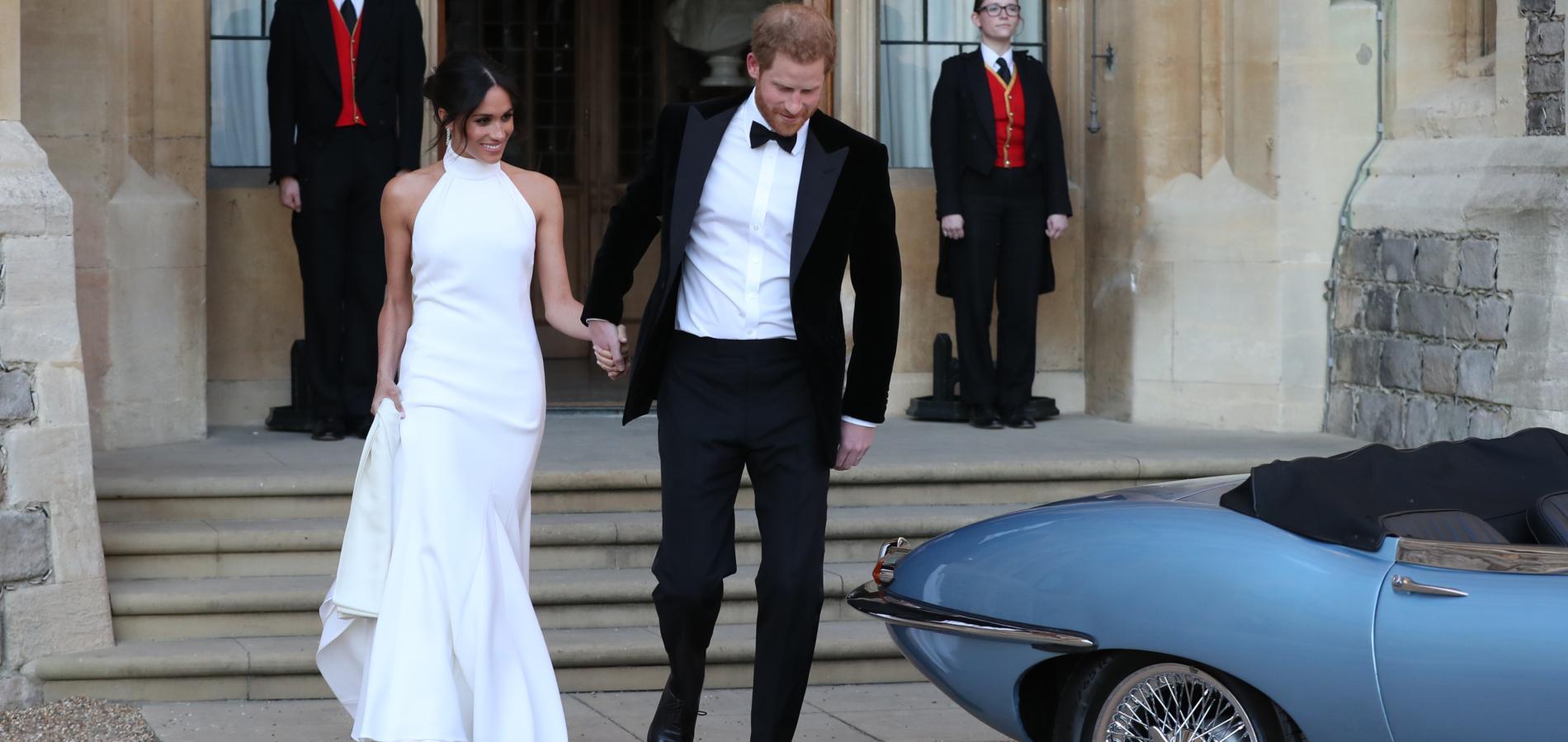 La seconde robe de mariée très hollywoodienne