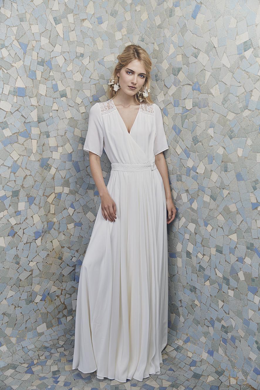 11a0e7eeb39 Découvrez la collection de robes de mariée Anne de Lafforest 2019 ...
