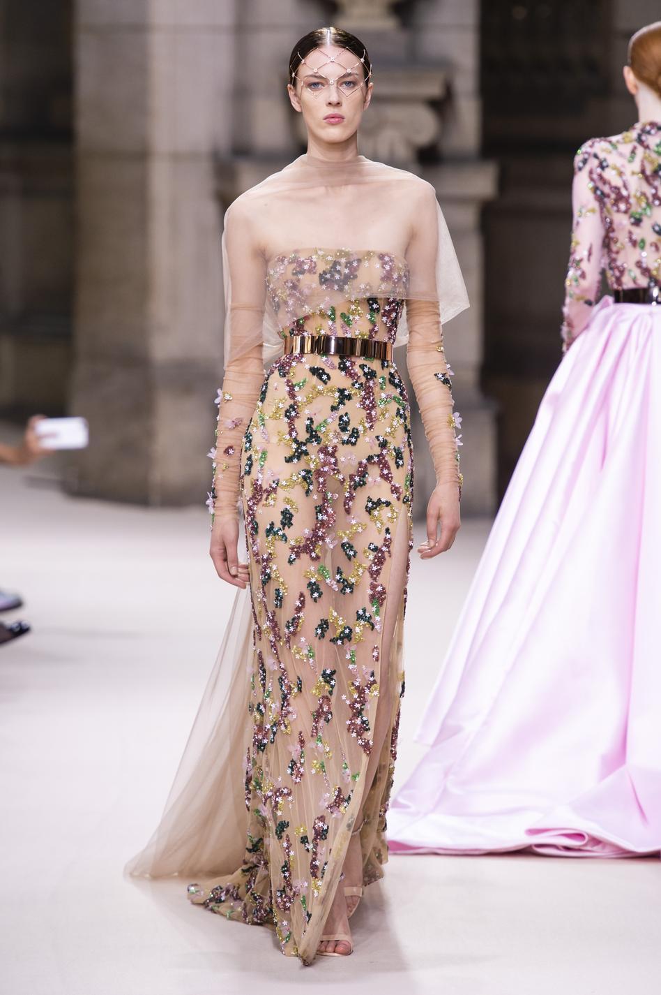 Les robes de rêves repérées à la Fashion Week haute couture  automne,hiver 2018,2019 , Galia Lahav