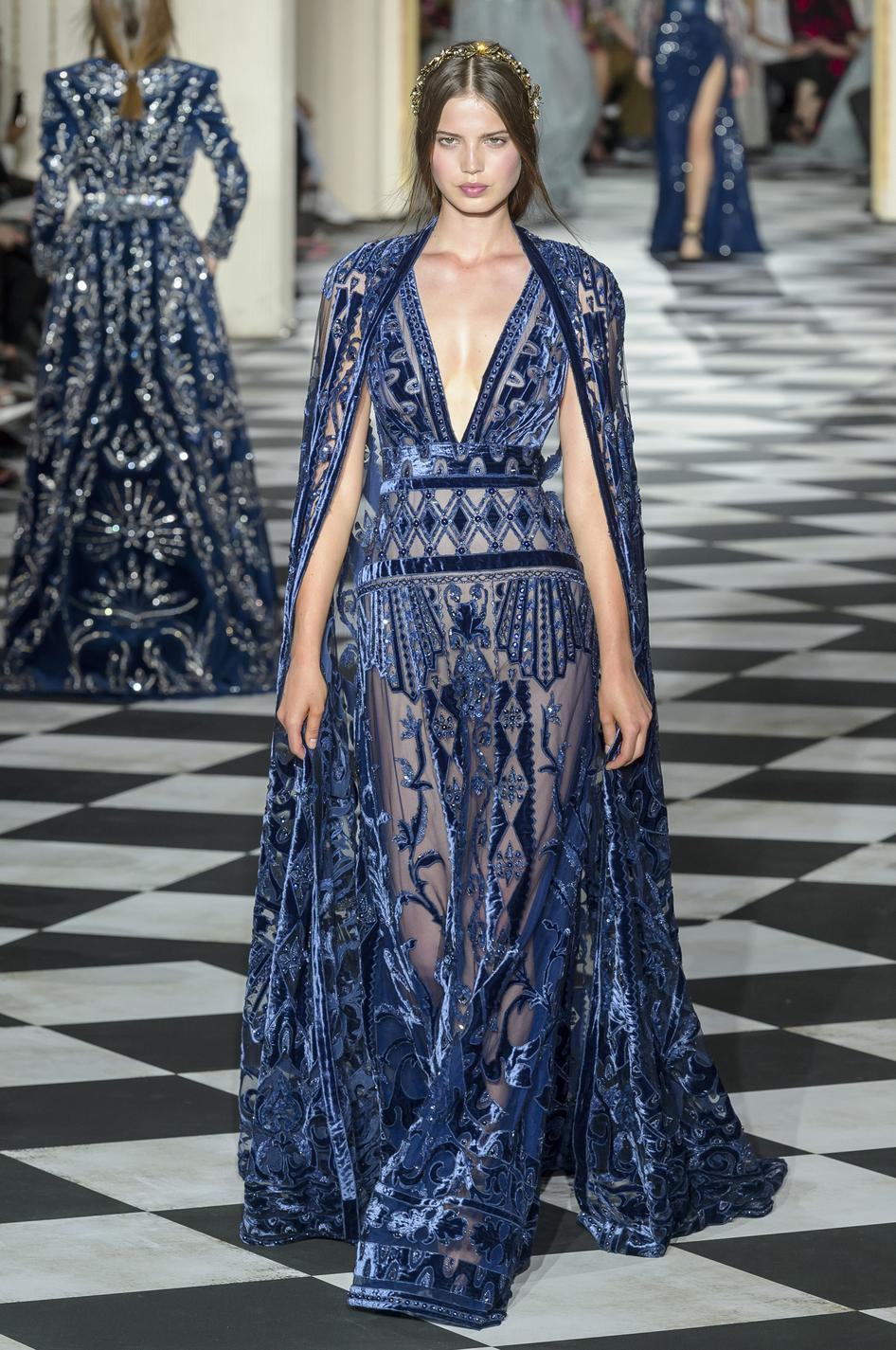 Les robes de rêves repérées à la Fashion Week haute couture  automne,hiver 2018,2019 , Zuhair Murad