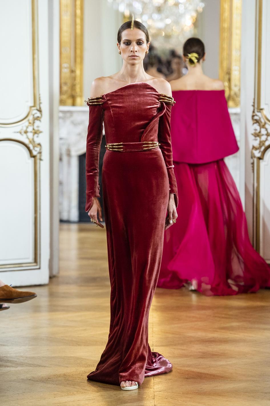 Imaxtree Les robes de rêves repérées à la Fashion Week haute couture  automne,hiver 2018,2019 , Antonio Grimaldi